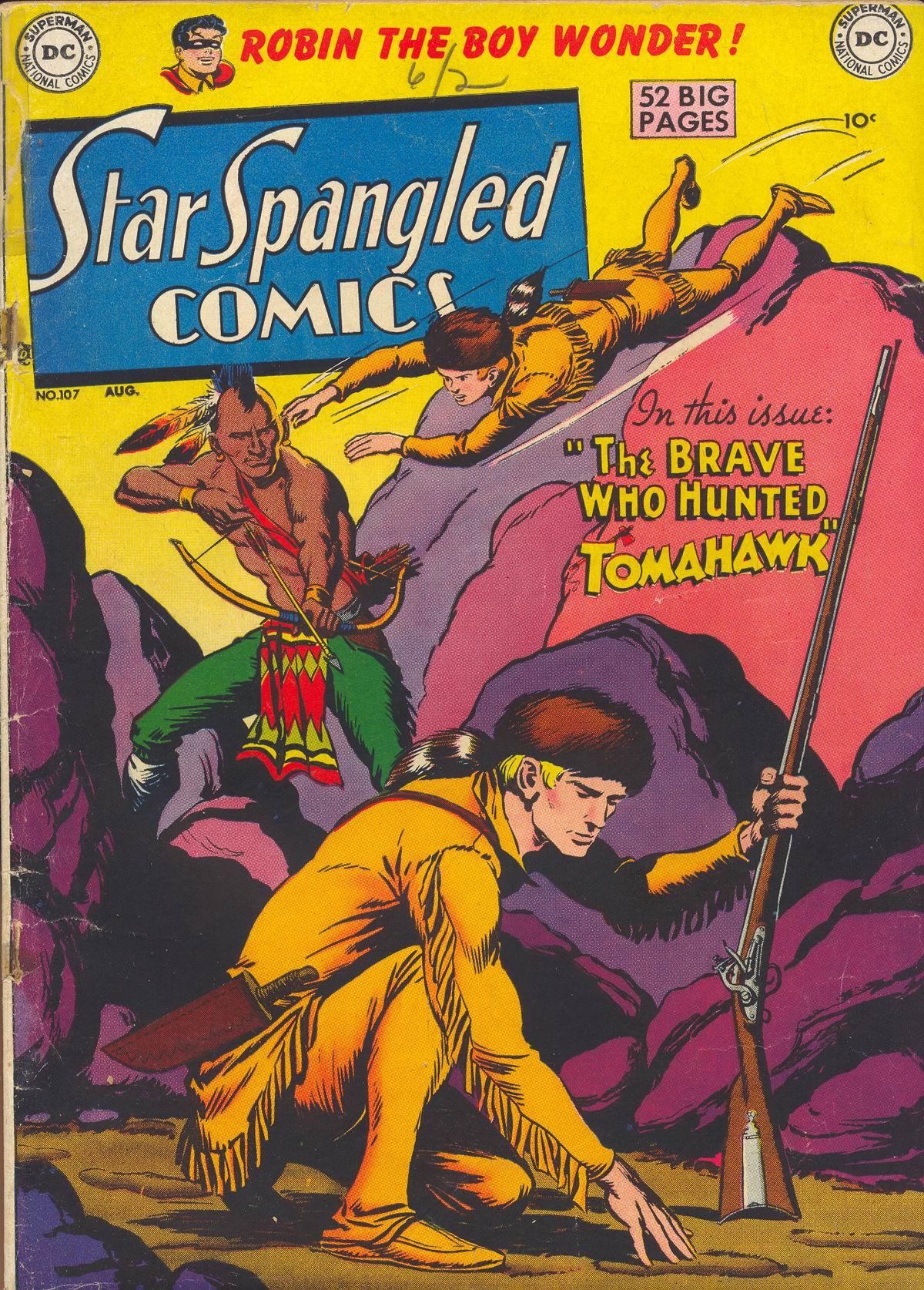 Star Spangled Comics (1941) 107 Page 1