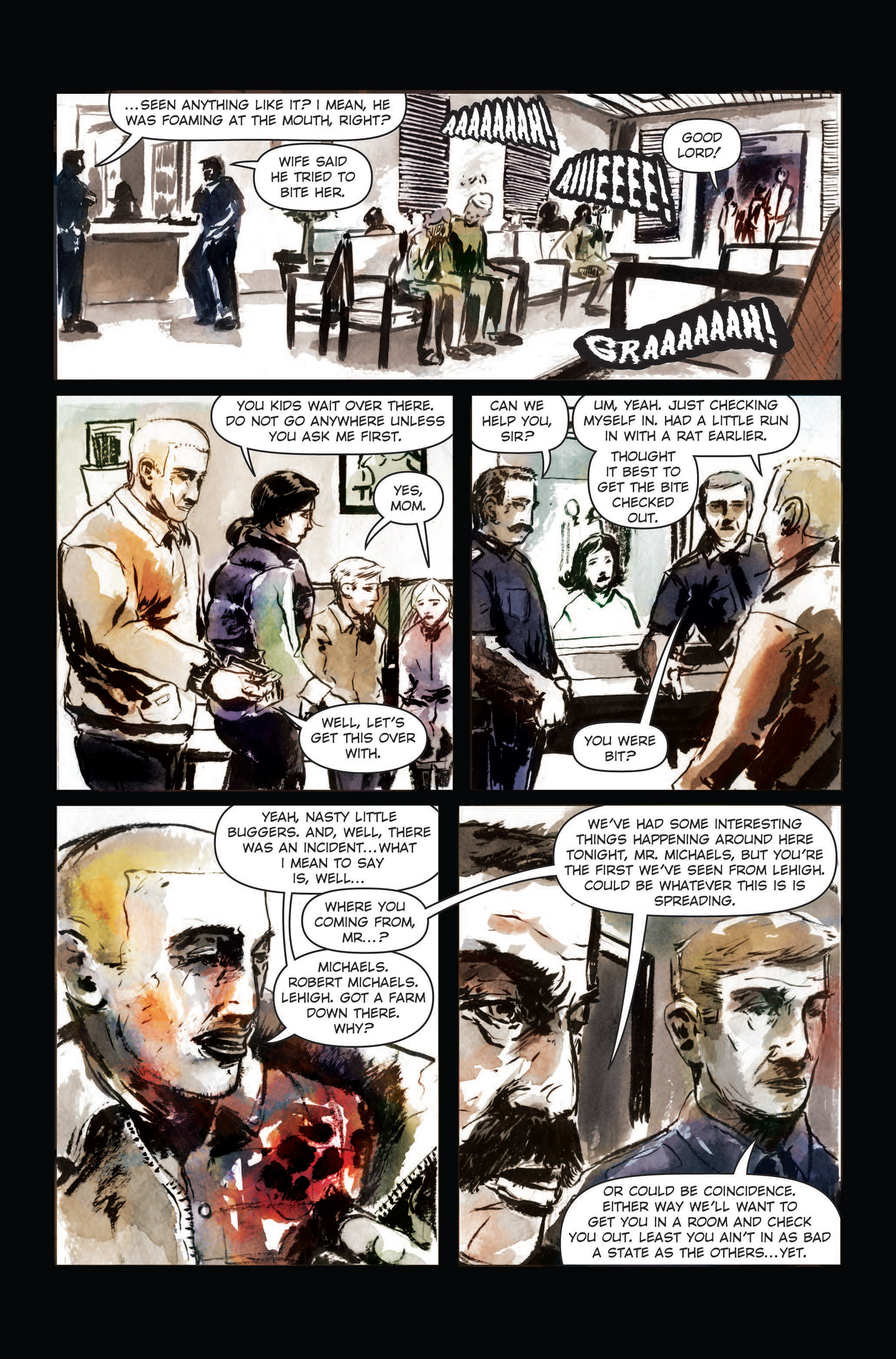 Read online The Final Plague comic -  Issue #3 - 13