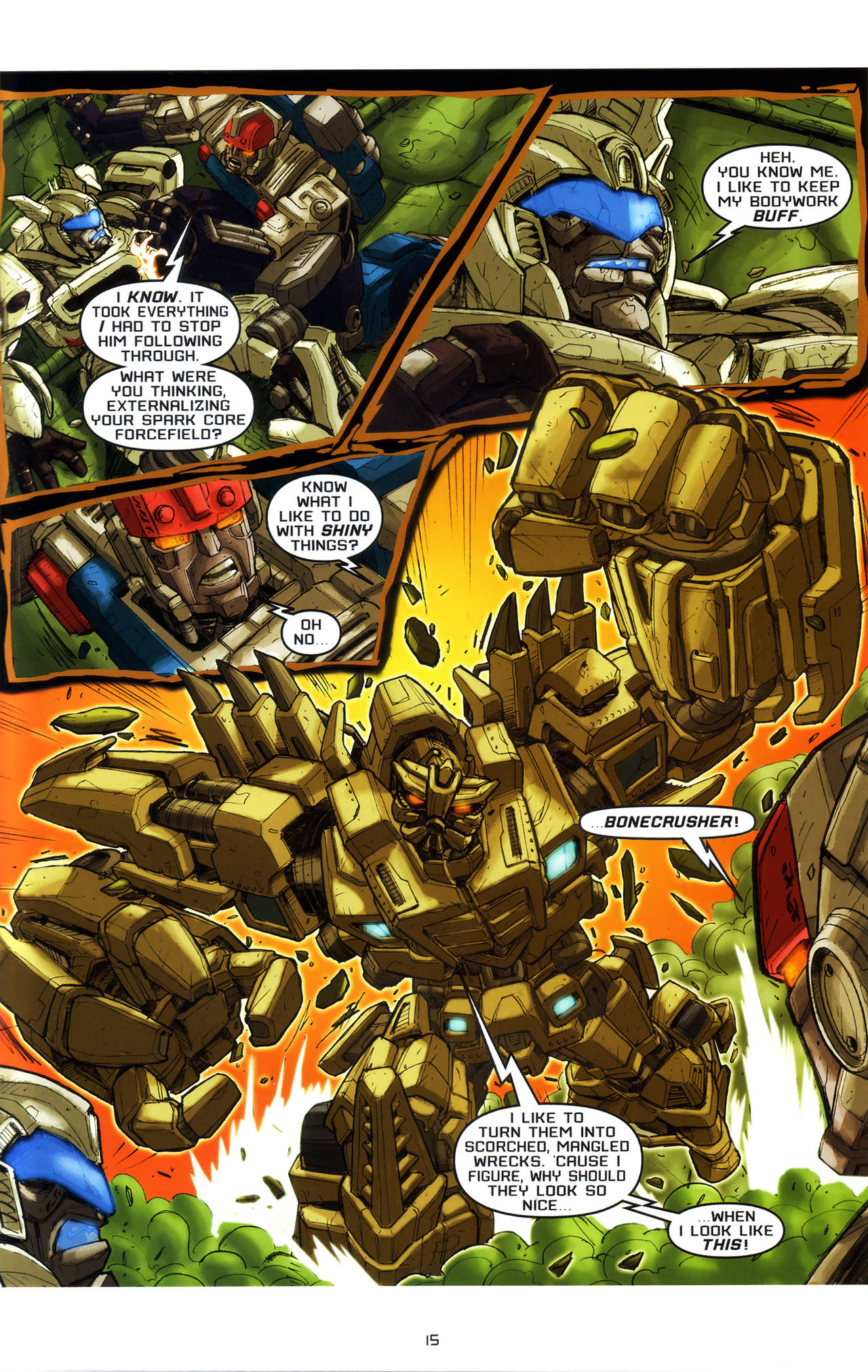 Read online Transformers: Saga of the Allspark comic -  Issue #3 - 18