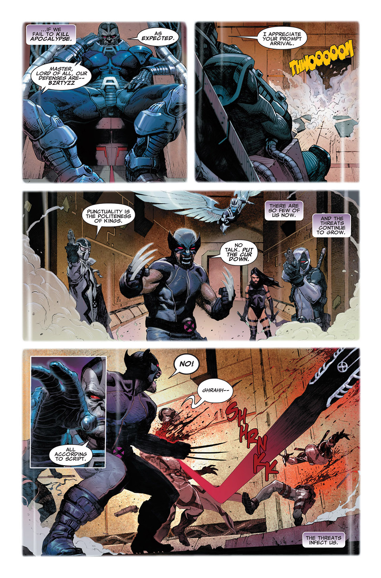 Read online Uncanny X-Force (2010) comic -  Issue #2 - 5