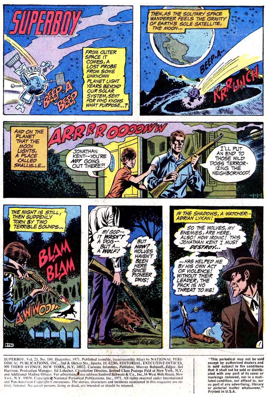 Superboy (1949) issue 180 - Page 2