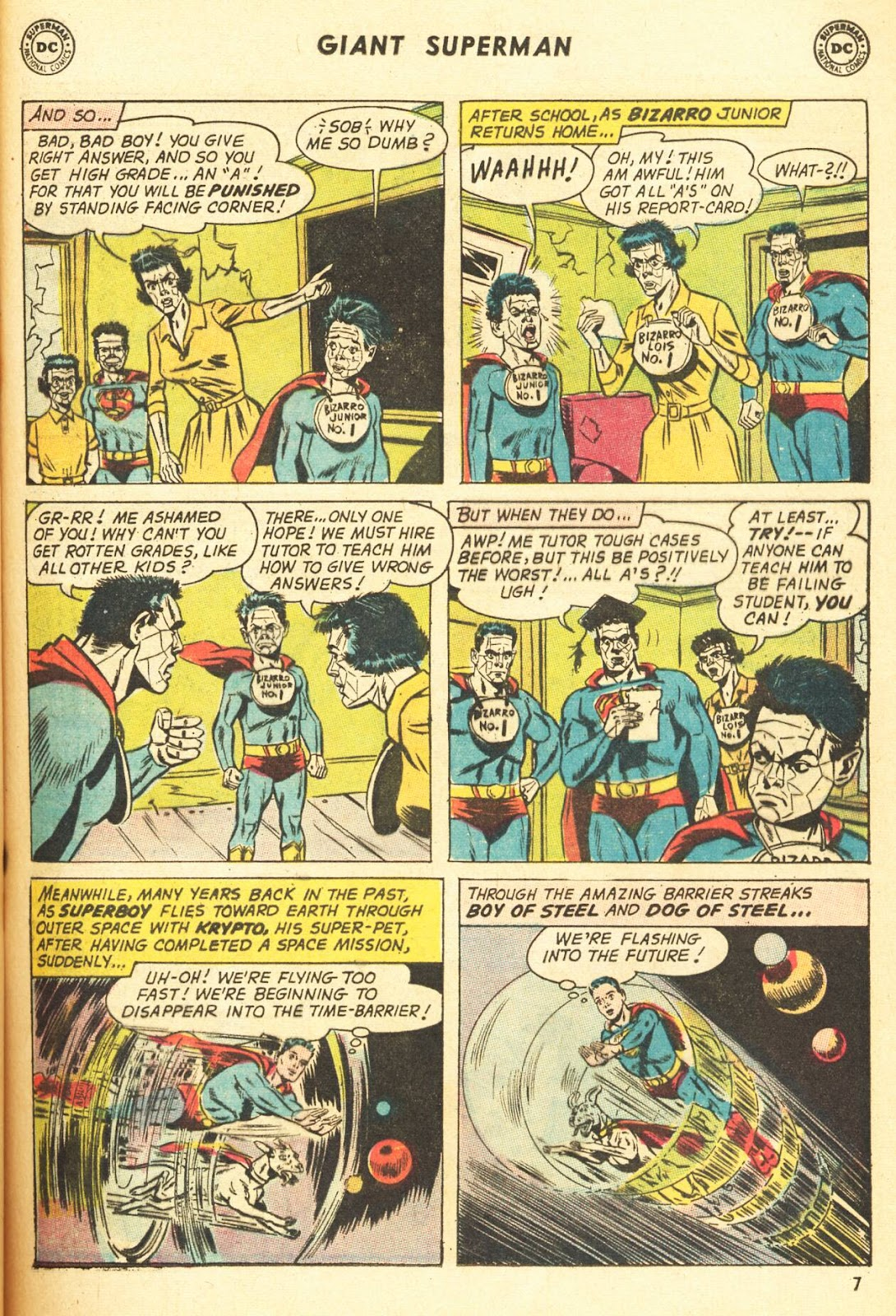 Comic Superman (1939) issue 216