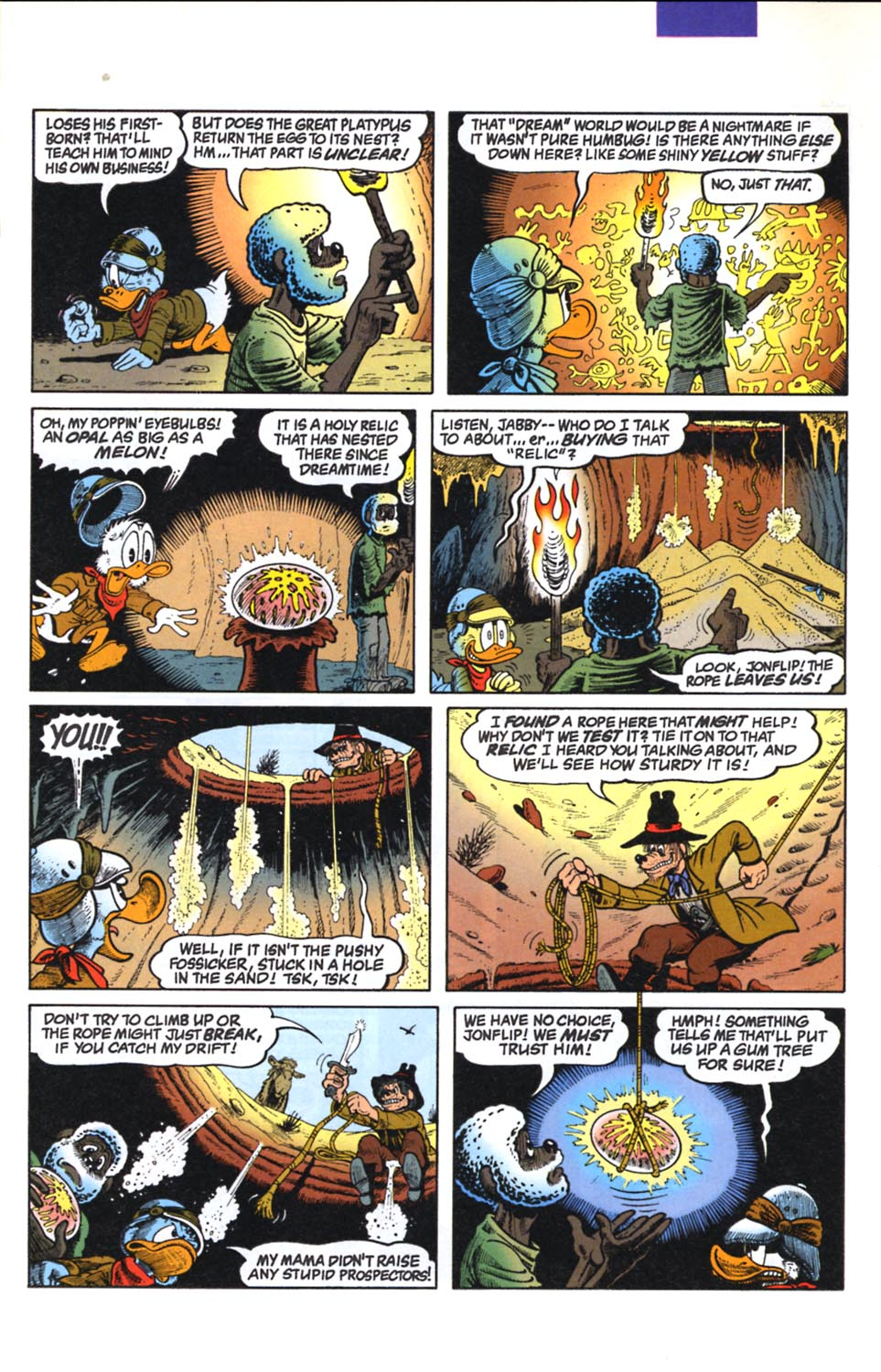 Read online Uncle Scrooge (1953) comic -  Issue #291 - 9