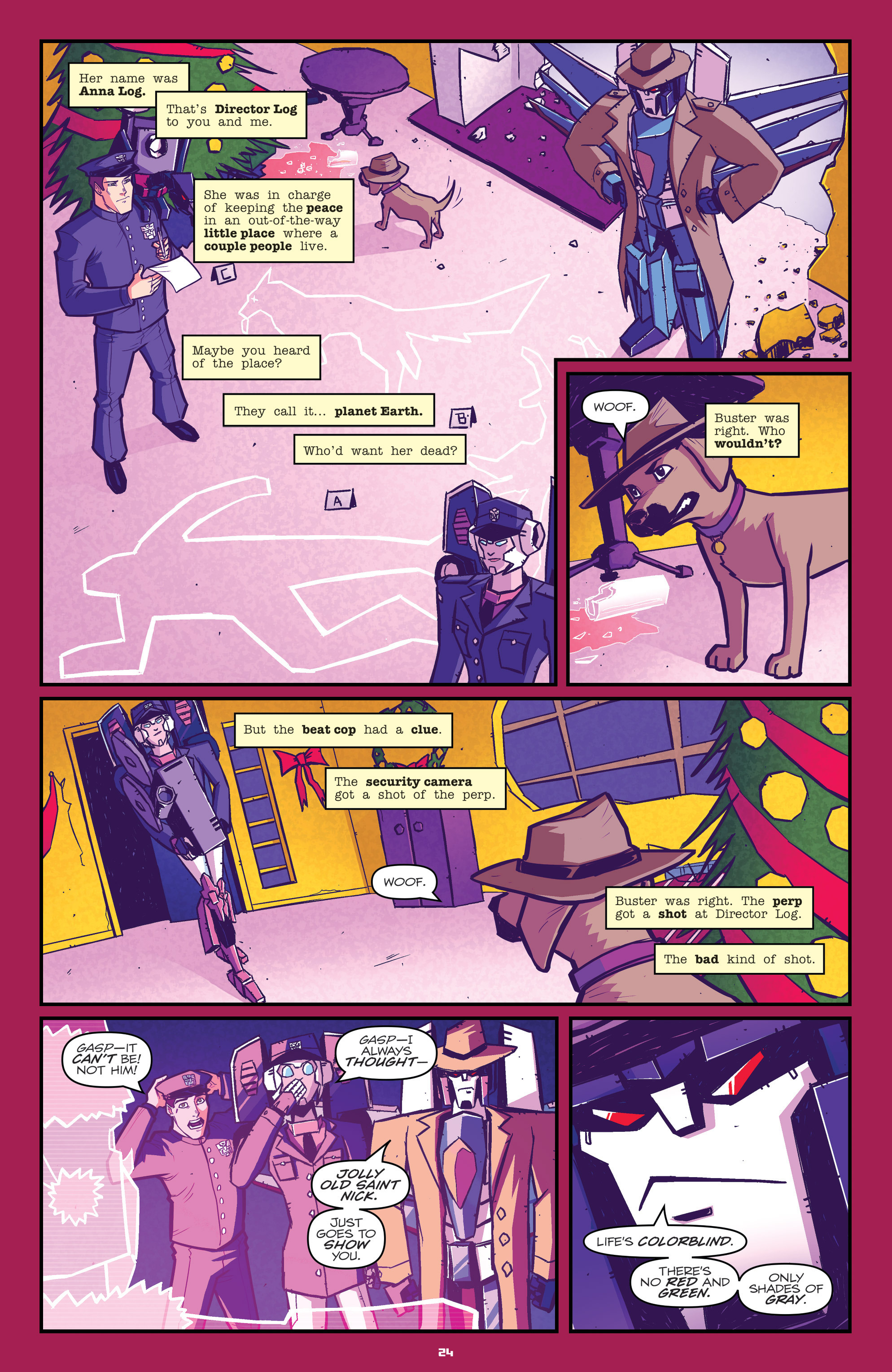 Read online Transformers: Holiday Special comic -  Issue # Full - 26