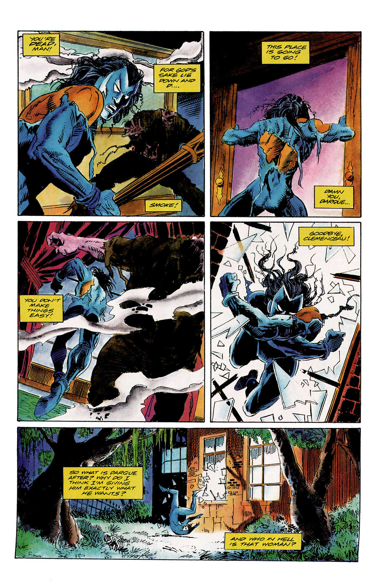 Read online Shadowman (1992) comic -  Issue #10 - 21