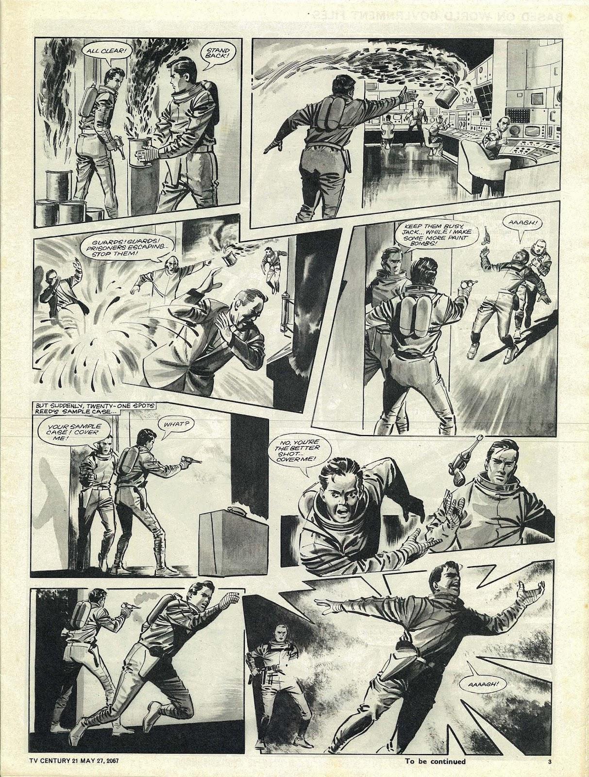 TV Century 21 (TV 21) issue 123 - Page 3