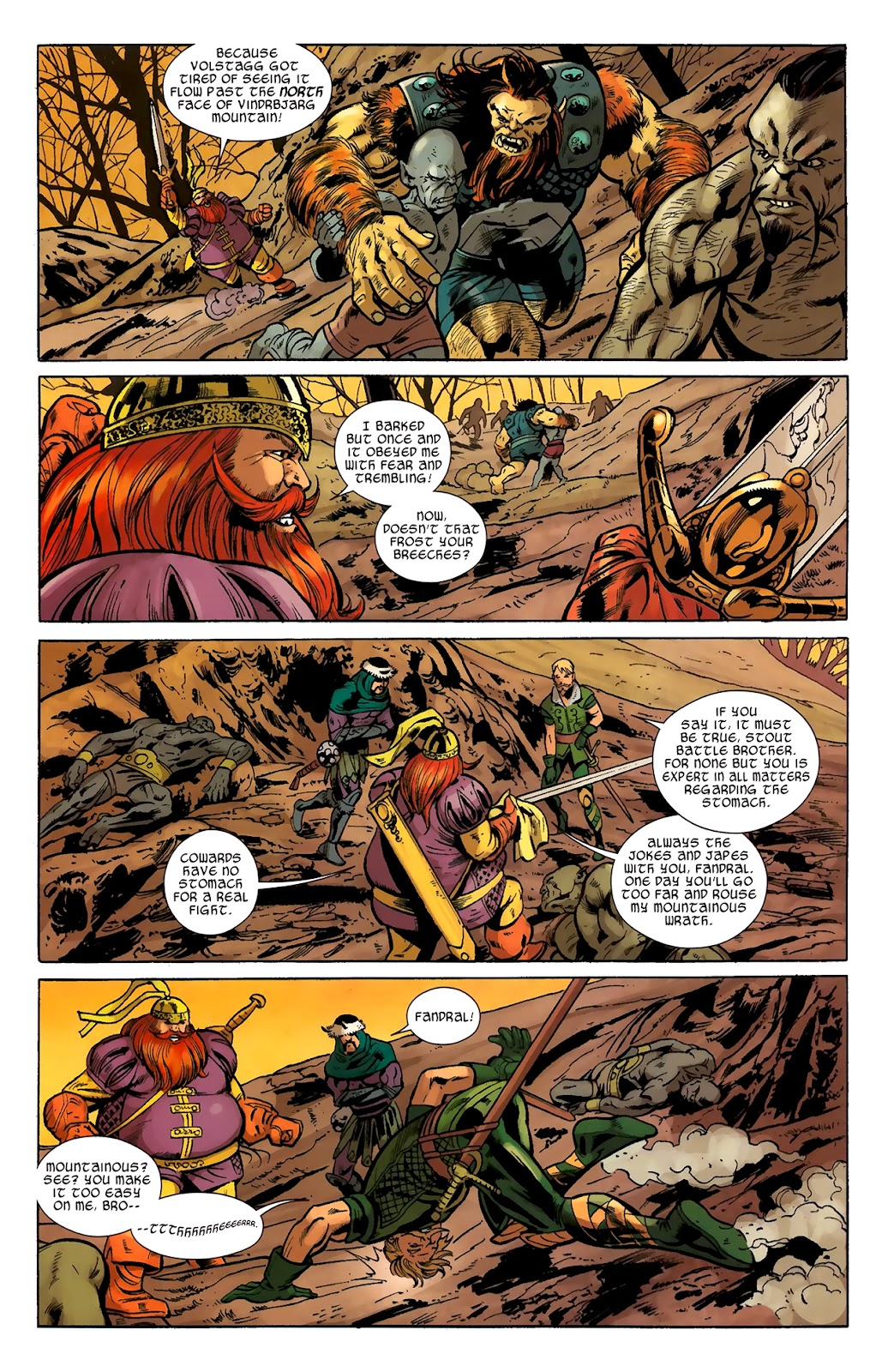 Warriors Three Issue #2 #2 - English 7