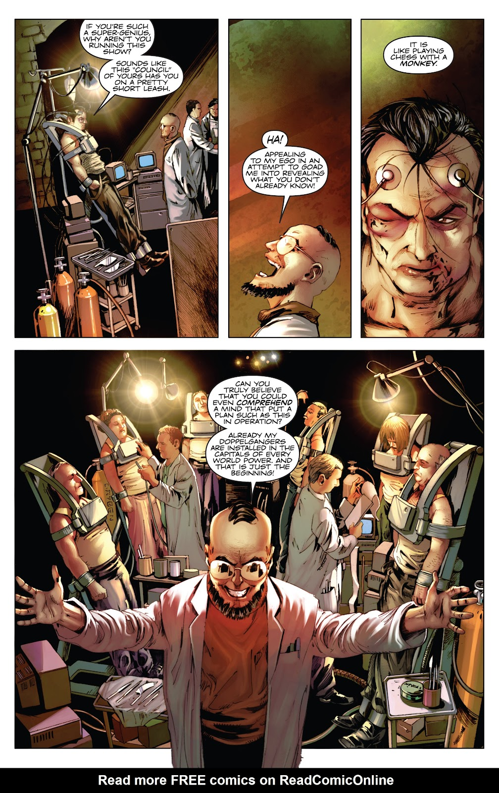 Read online Codename: Action comic -  Issue #3 - 24