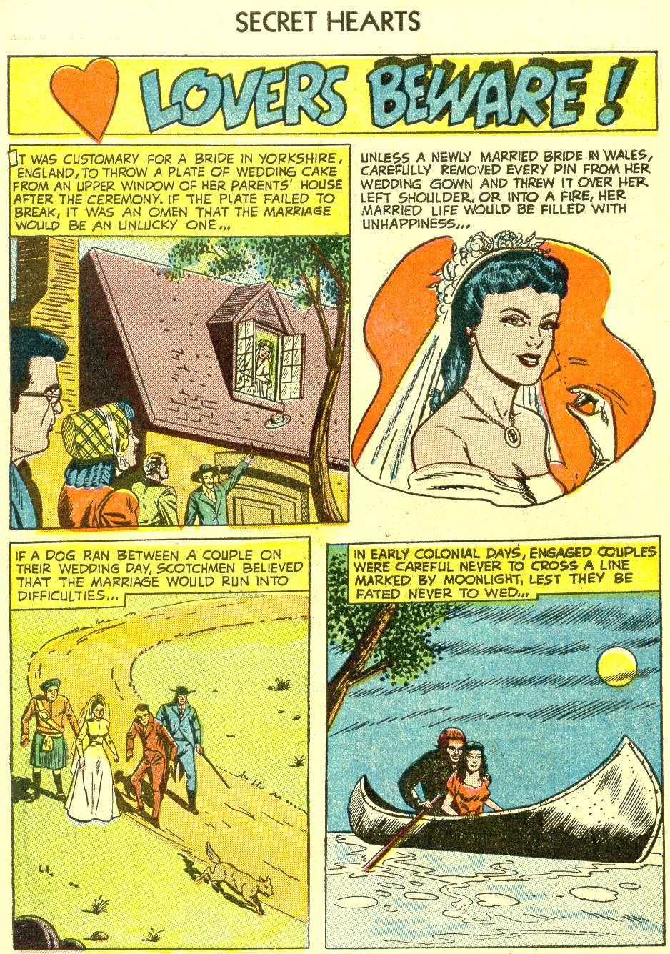 Read online Secret Hearts comic -  Issue #21 - 10