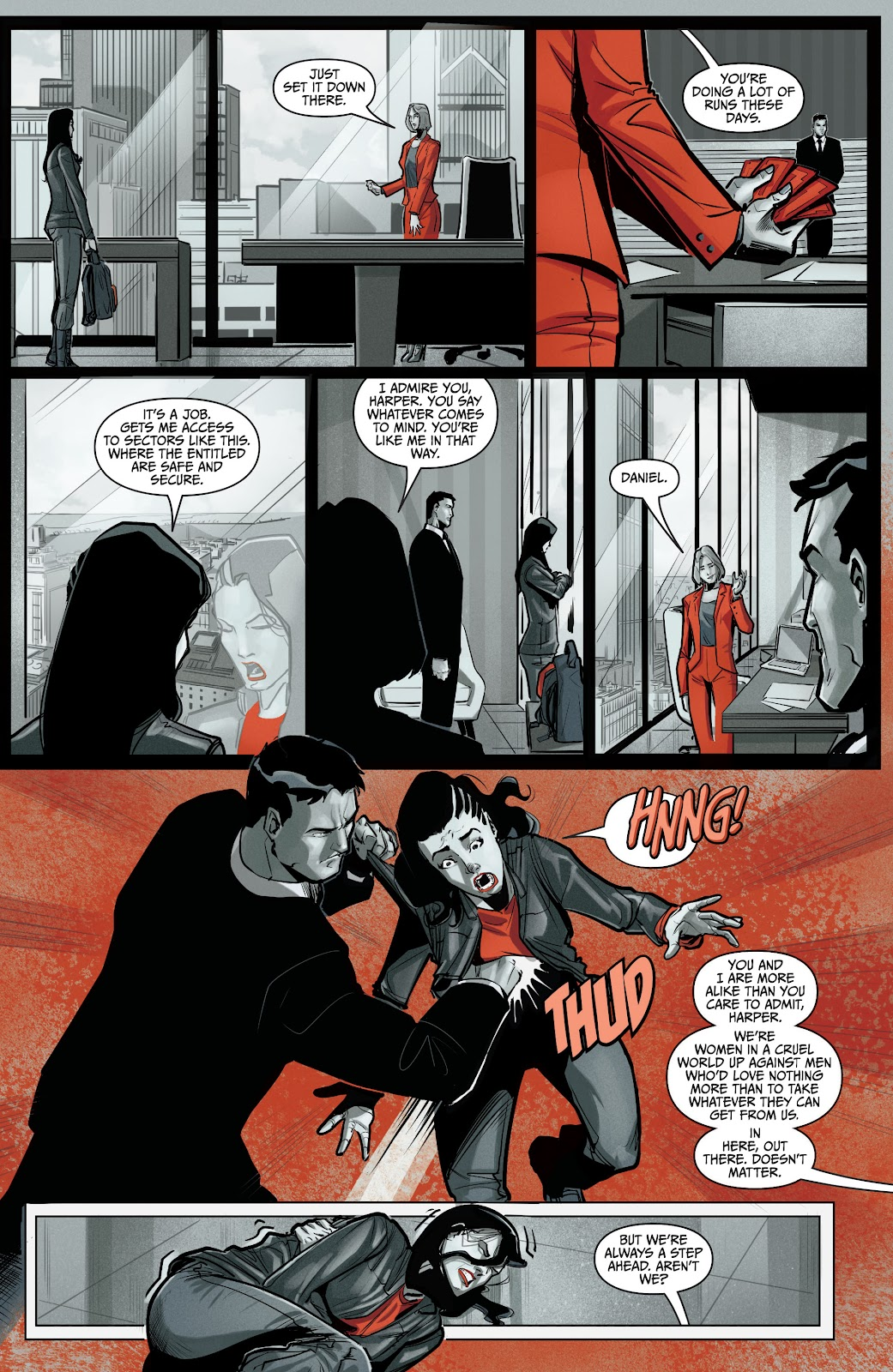 The Courier: Liberty & Death issue 2 - Page 12