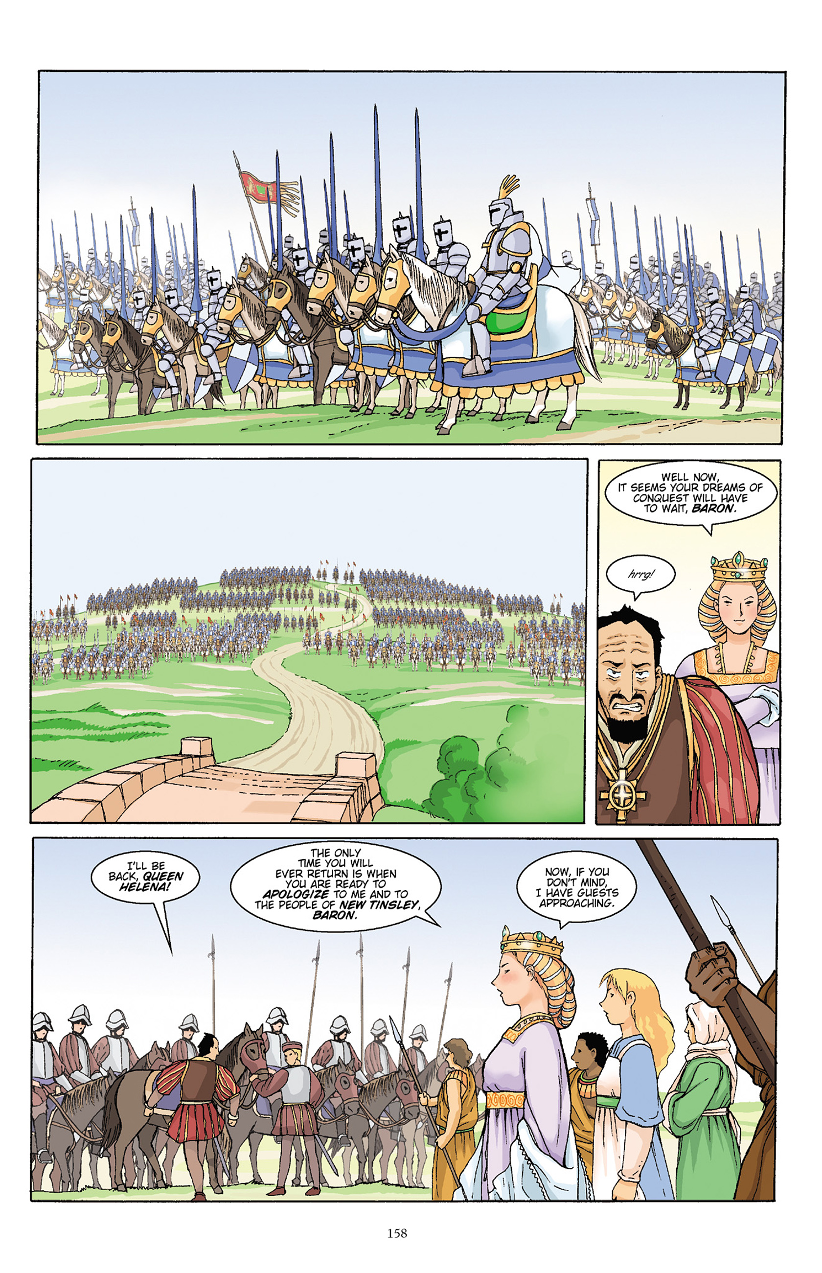 Read online Courageous Princess comic -  Issue # TPB 1 - 157