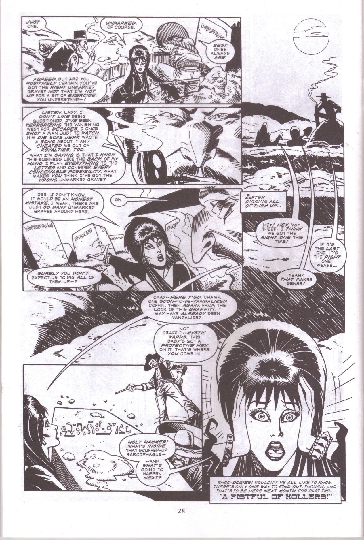 Read online Elvira, Mistress of the Dark comic -  Issue #159 - 30