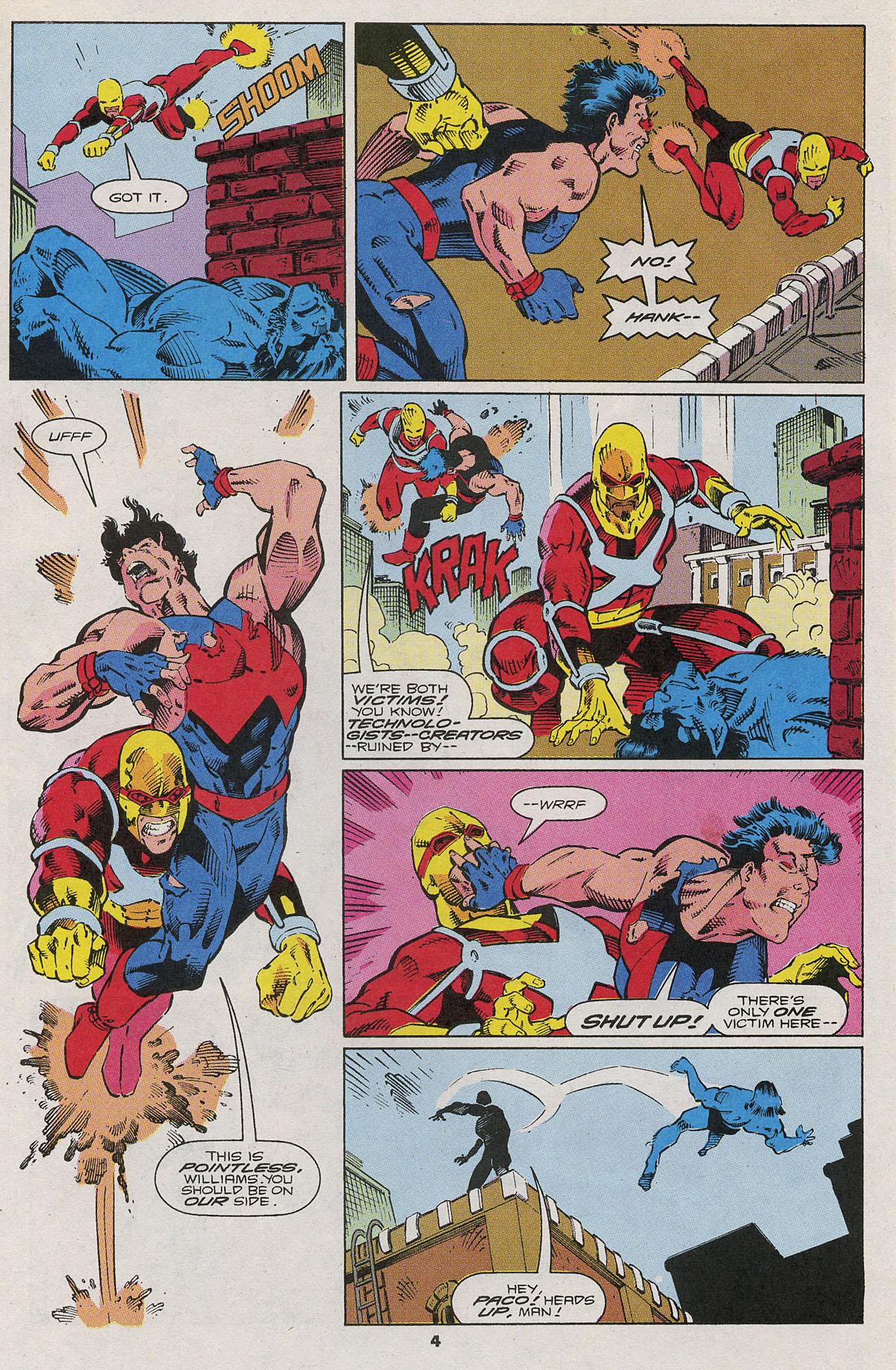 Read online Wonder Man (1991) comic -  Issue #6 - 5