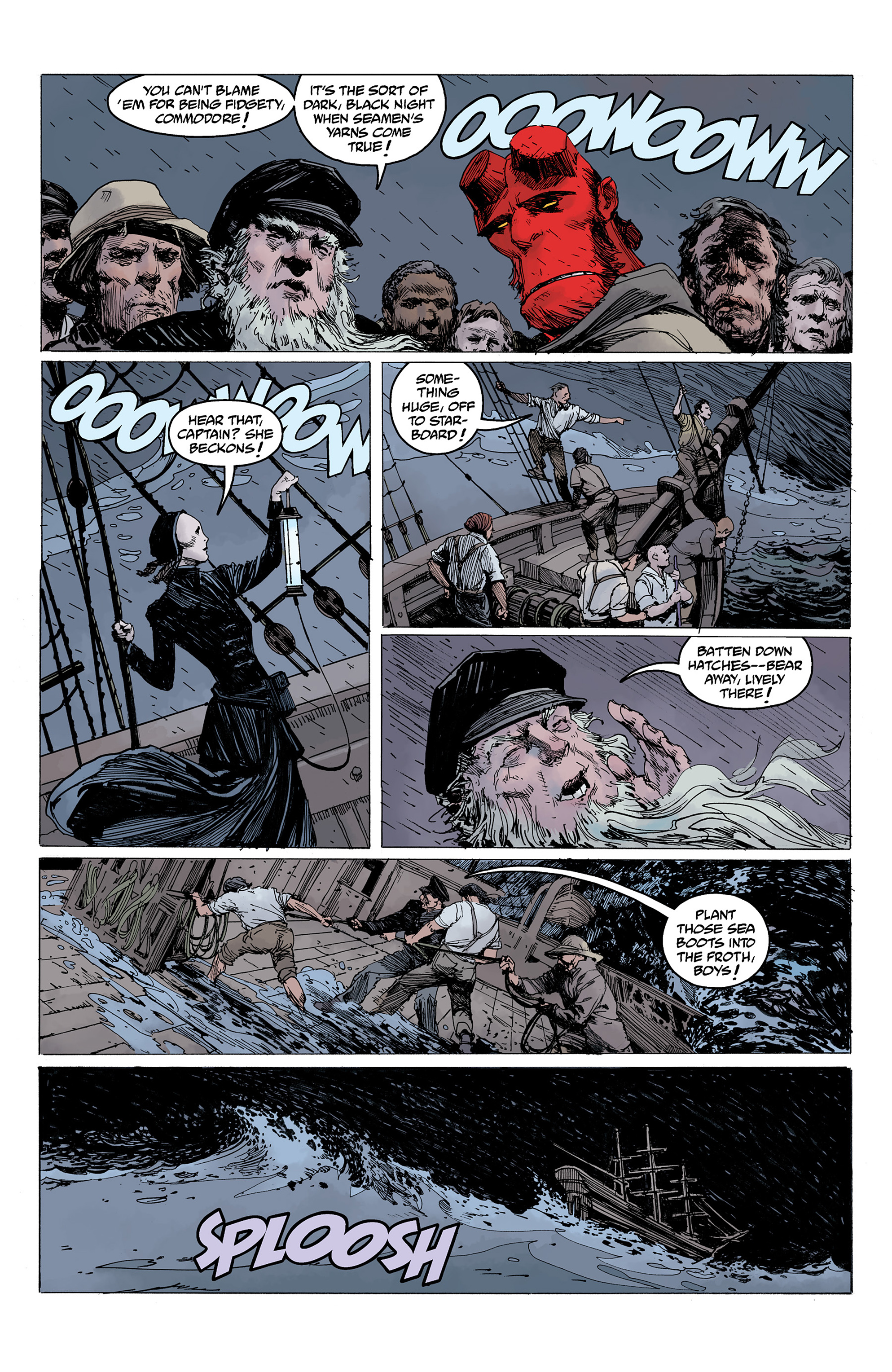 Read online Hellboy: Into the Silent Sea comic -  Issue # Full - 41