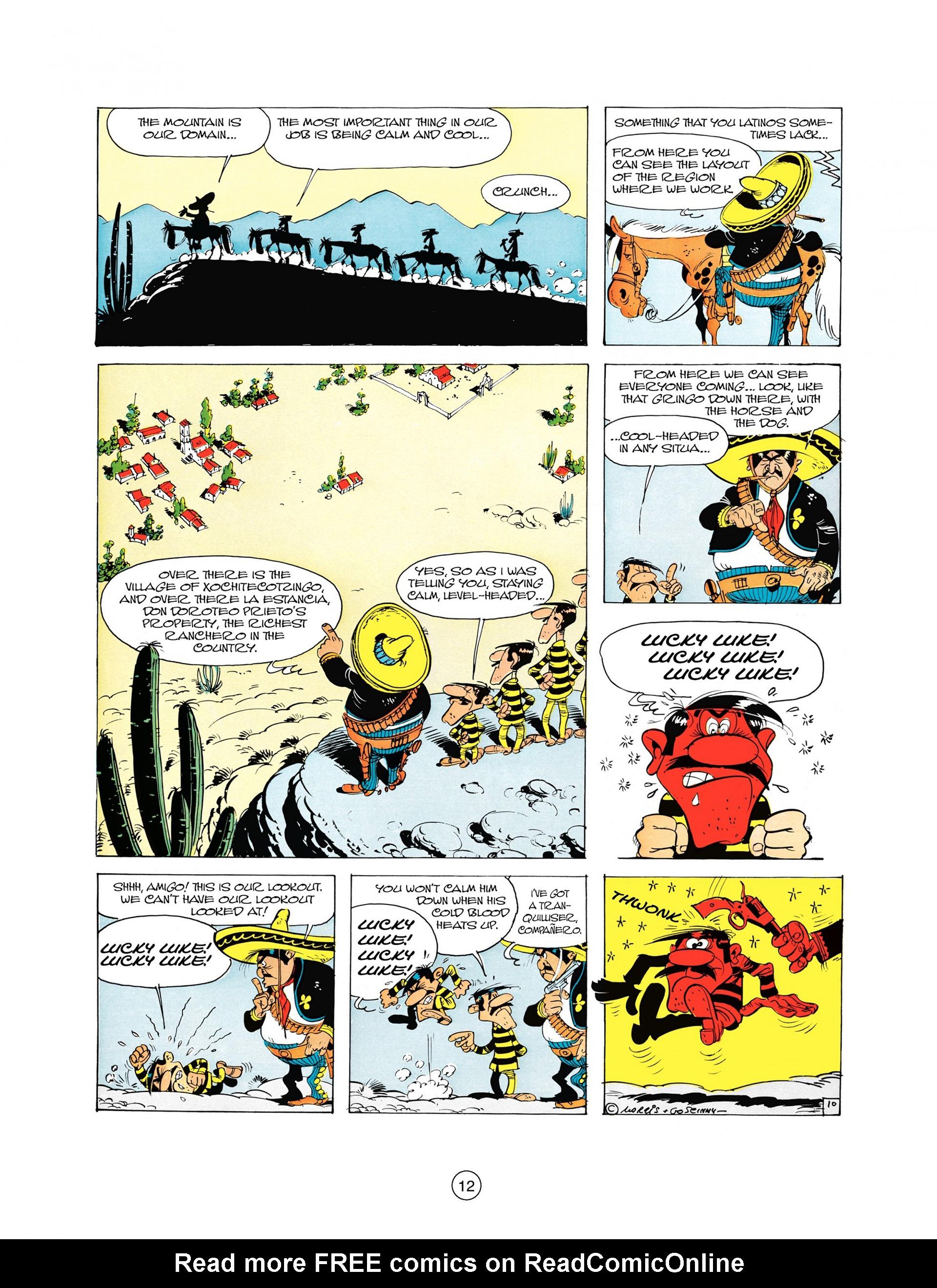 Read online A Lucky Luke Adventure comic -  Issue #10 - 12