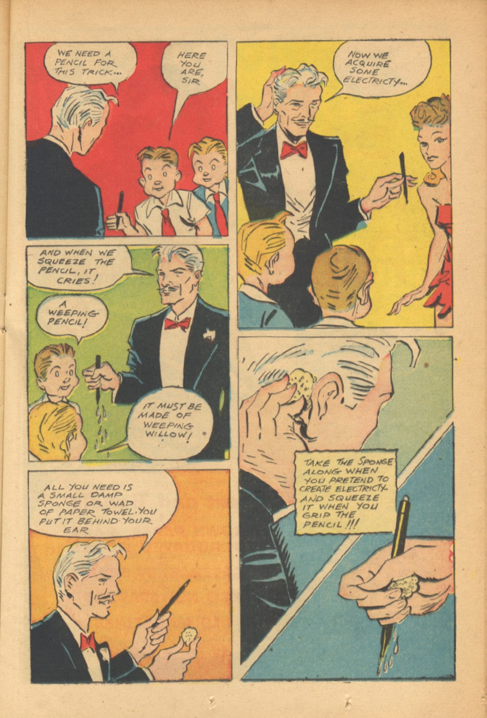 Read online Super-Magician Comics comic -  Issue #41 - 21