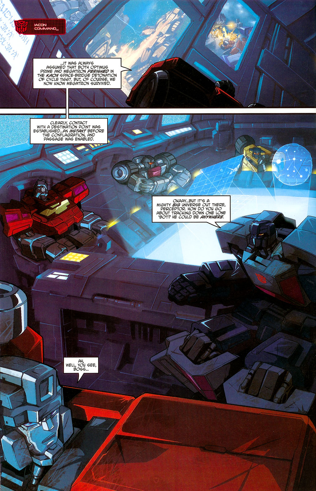 """Read online Transformers War Within: """"The Age of Wrath"""" comic -  Issue #3 - 10"""
