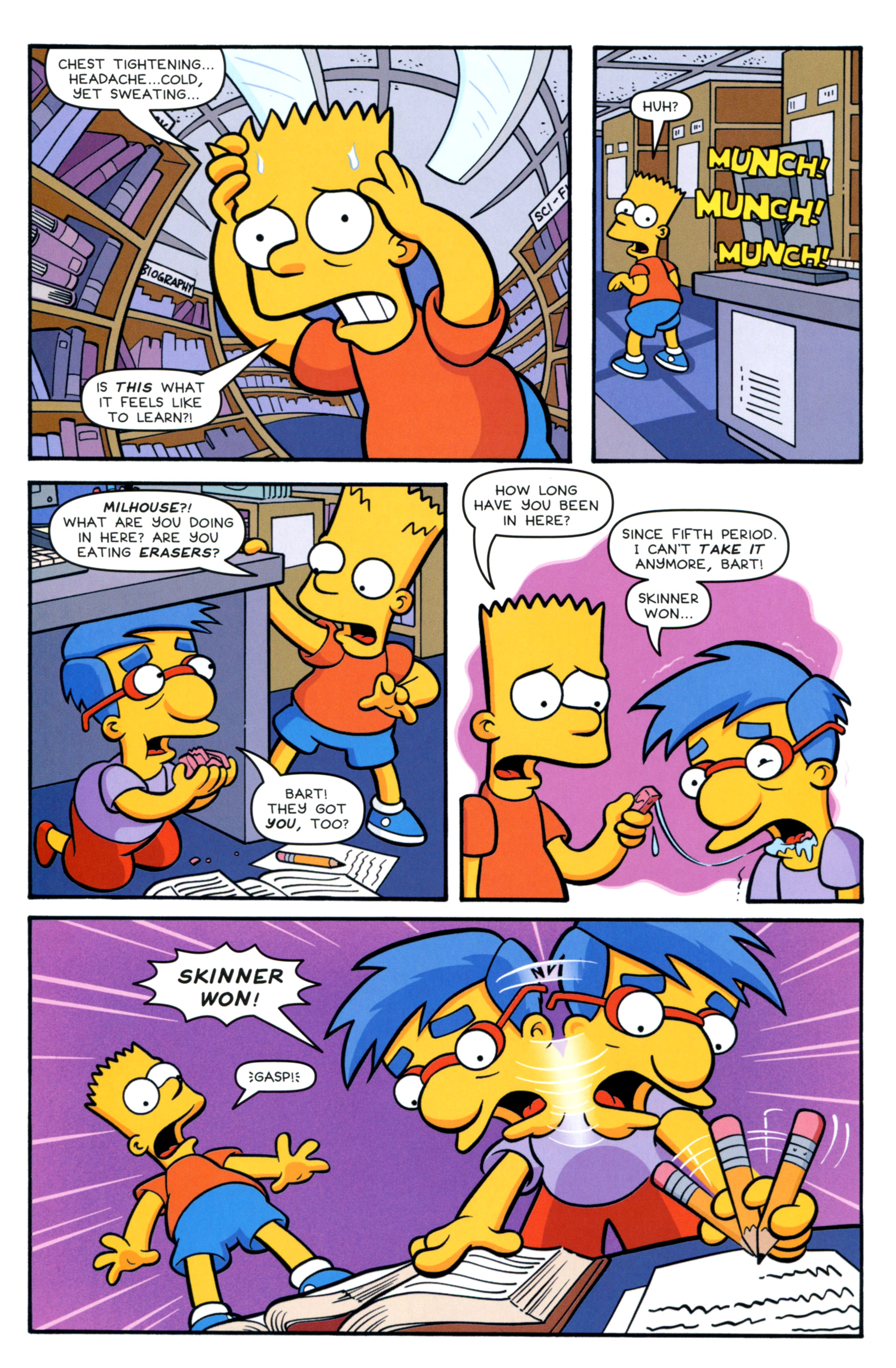 Read online Simpsons Comics Presents Bart Simpson comic -  Issue #83 - 20