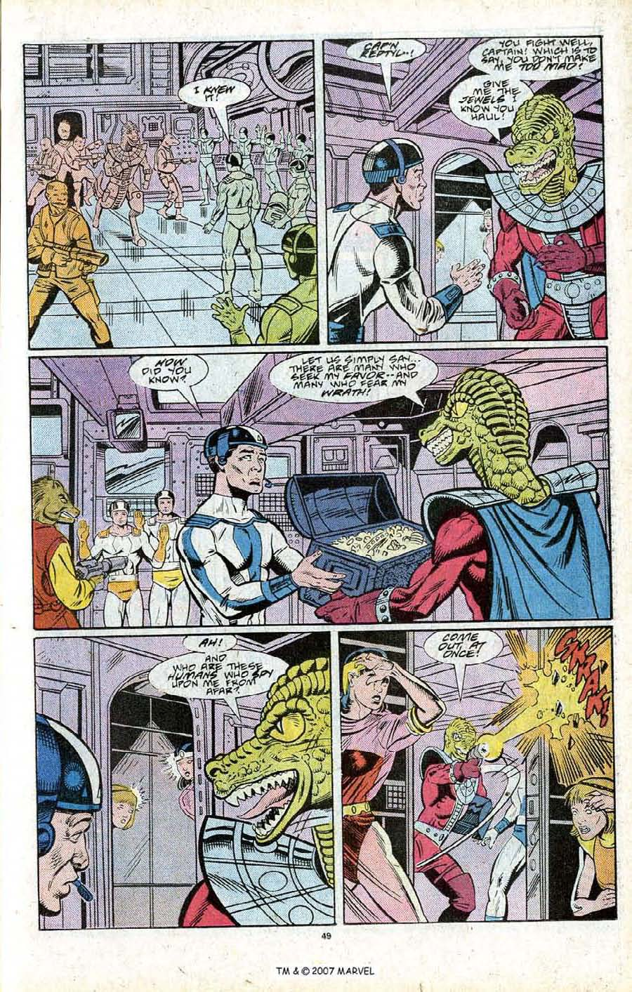 Read online Silver Surfer (1987) comic -  Issue # _Annual 2 - 51