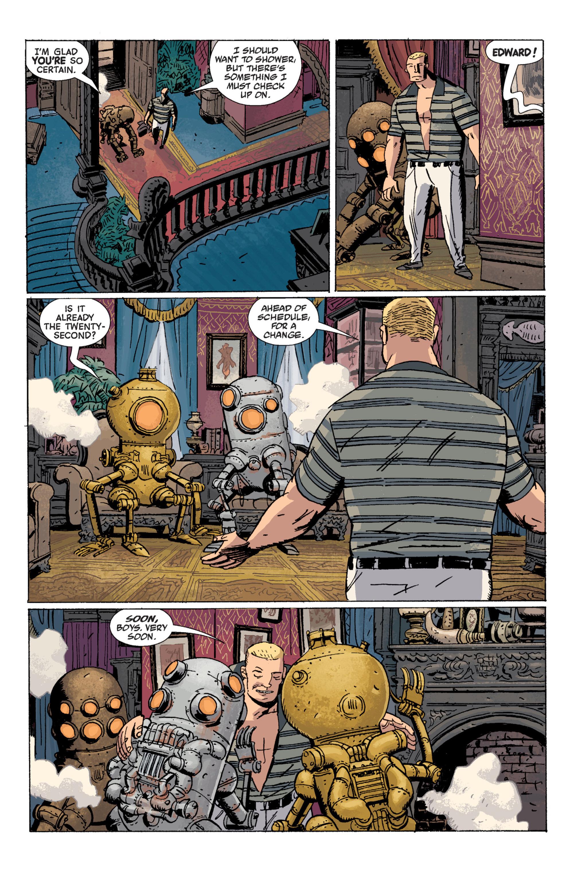 Read online B.P.R.D. (2003) comic -  Issue # TPB 7 - 48