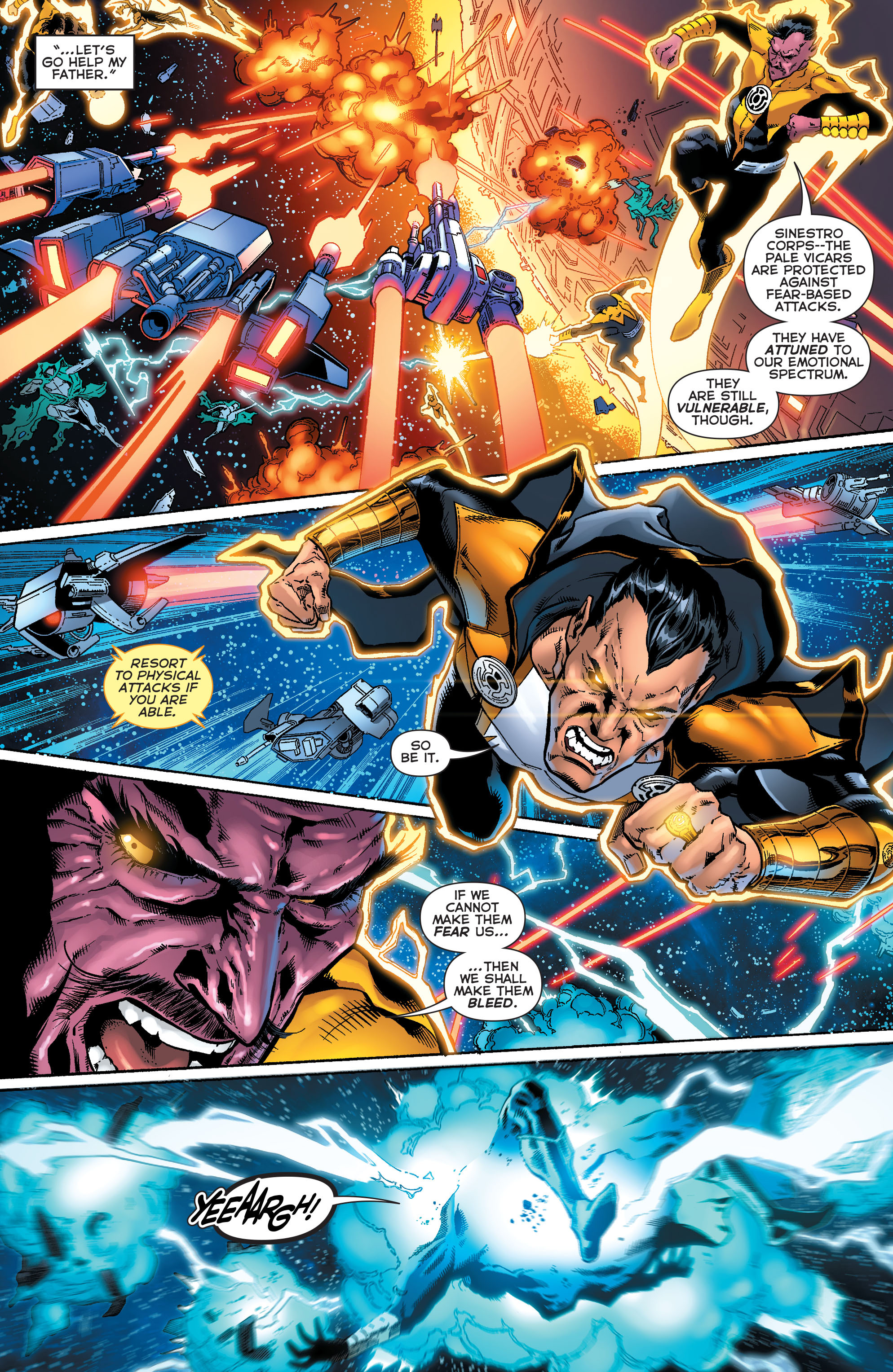 Read online Sinestro comic -  Issue #18 - 12