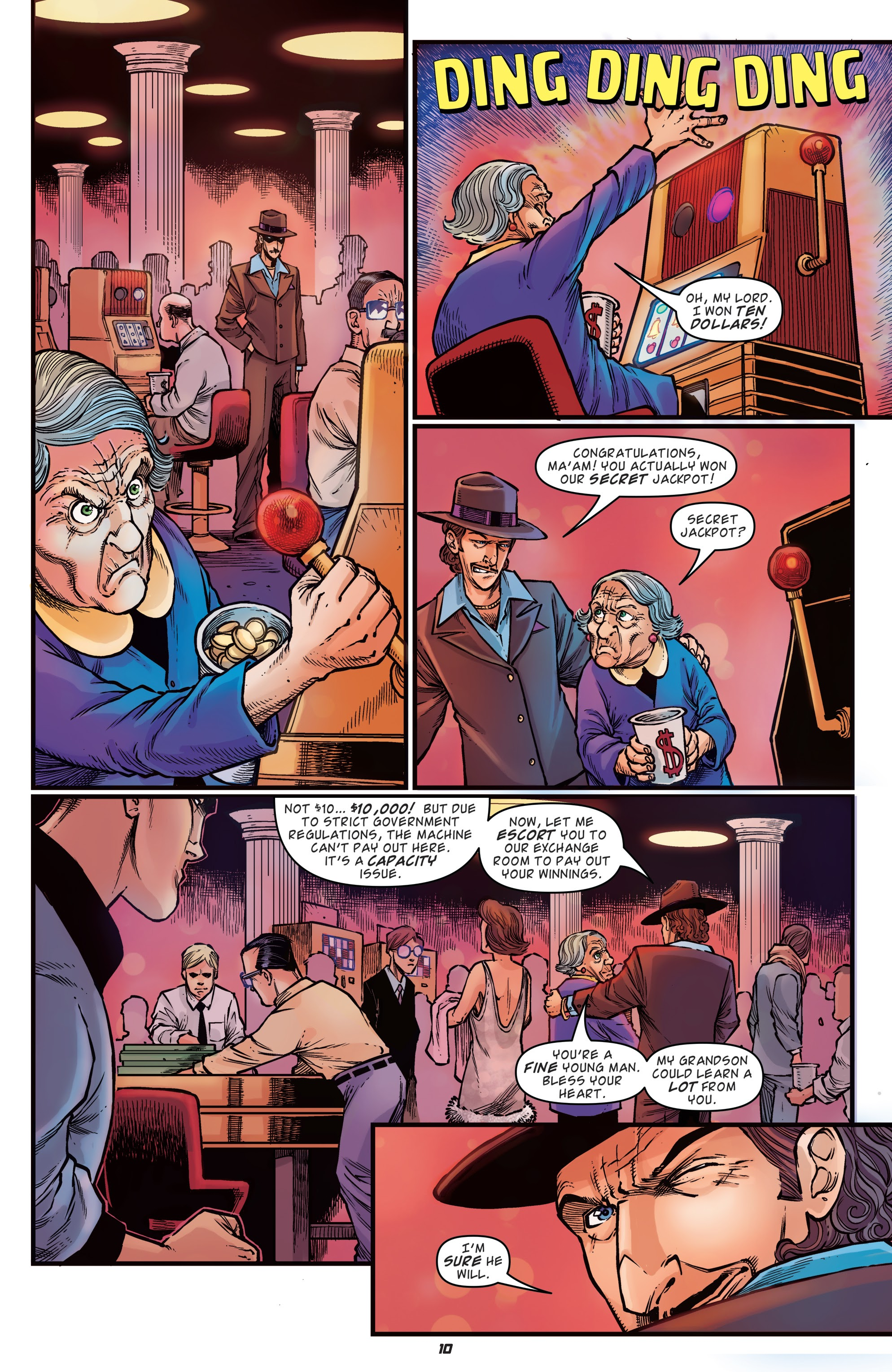 Read online Back to the Future: Biff to the Future comic -  Issue #1 - 12