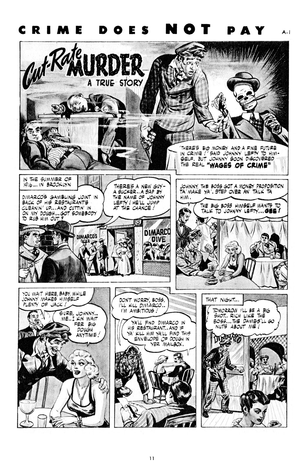 Read online Crime Does Not Pay Archives comic -  Issue # TPB 7 (Part 1) - 13