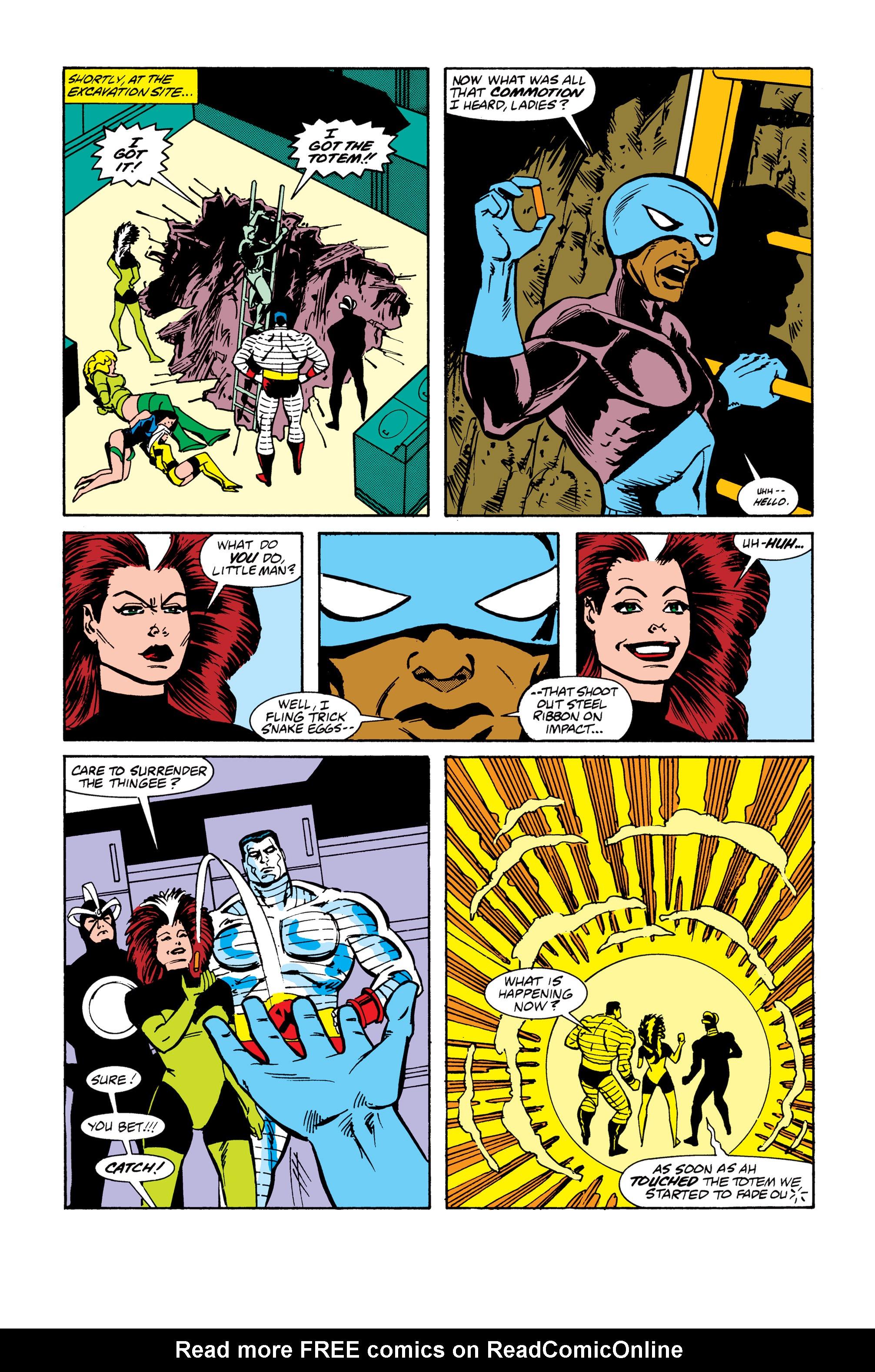 Read online Uncanny X-Men (1963) comic -  Issue # _Annual 13 - 23