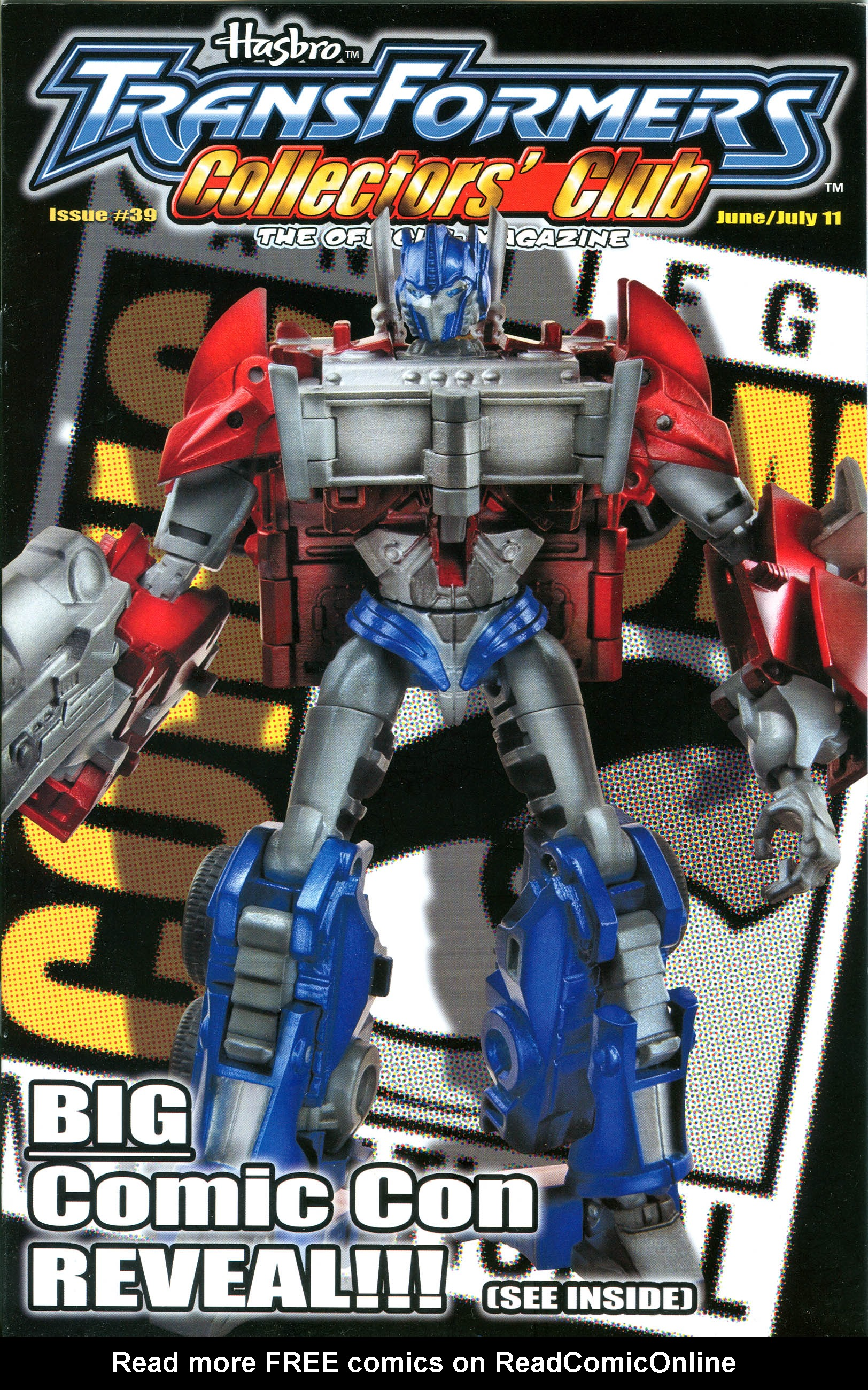 Read online Transformers: Collectors' Club comic -  Issue #39 - 1