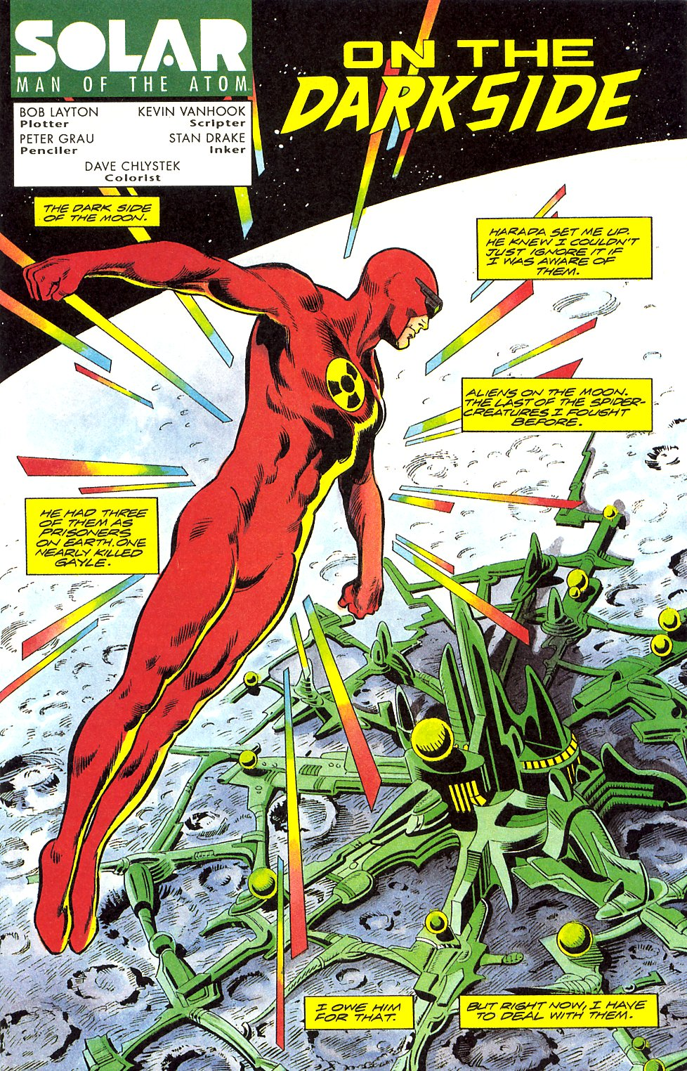Read online Solar, Man of the Atom comic -  Issue #17 - 3