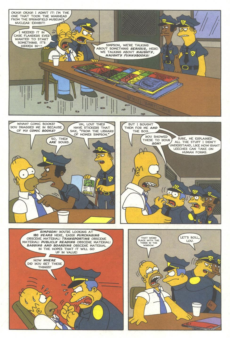 Read online Simpsons Comics comic -  Issue #39 - 10