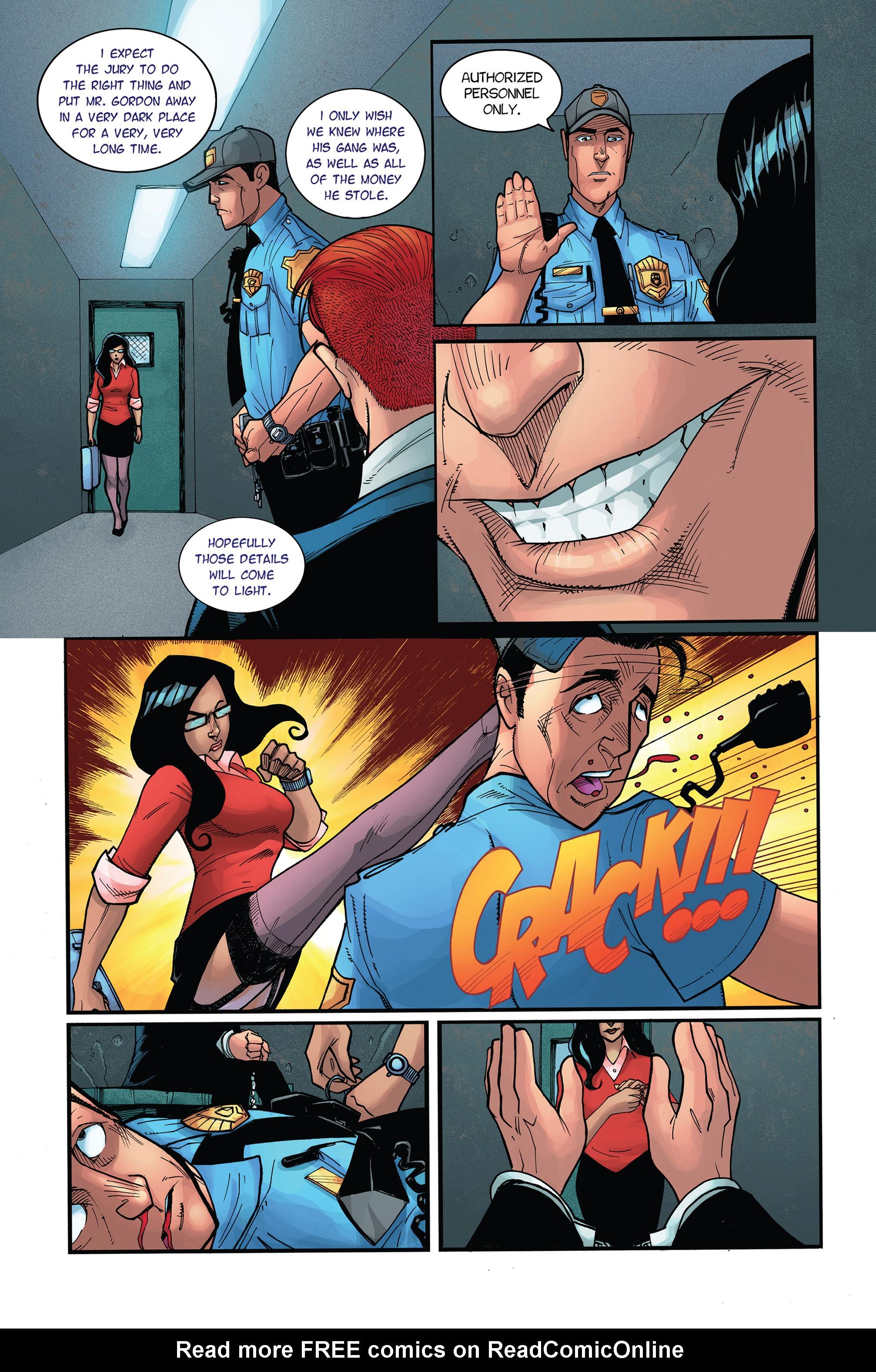 Read online Antiis Comics Presents, Vol. 1: Midknight comic -  Issue #Antiis Comics Presents, Vol. 1: Midknight Full - 16