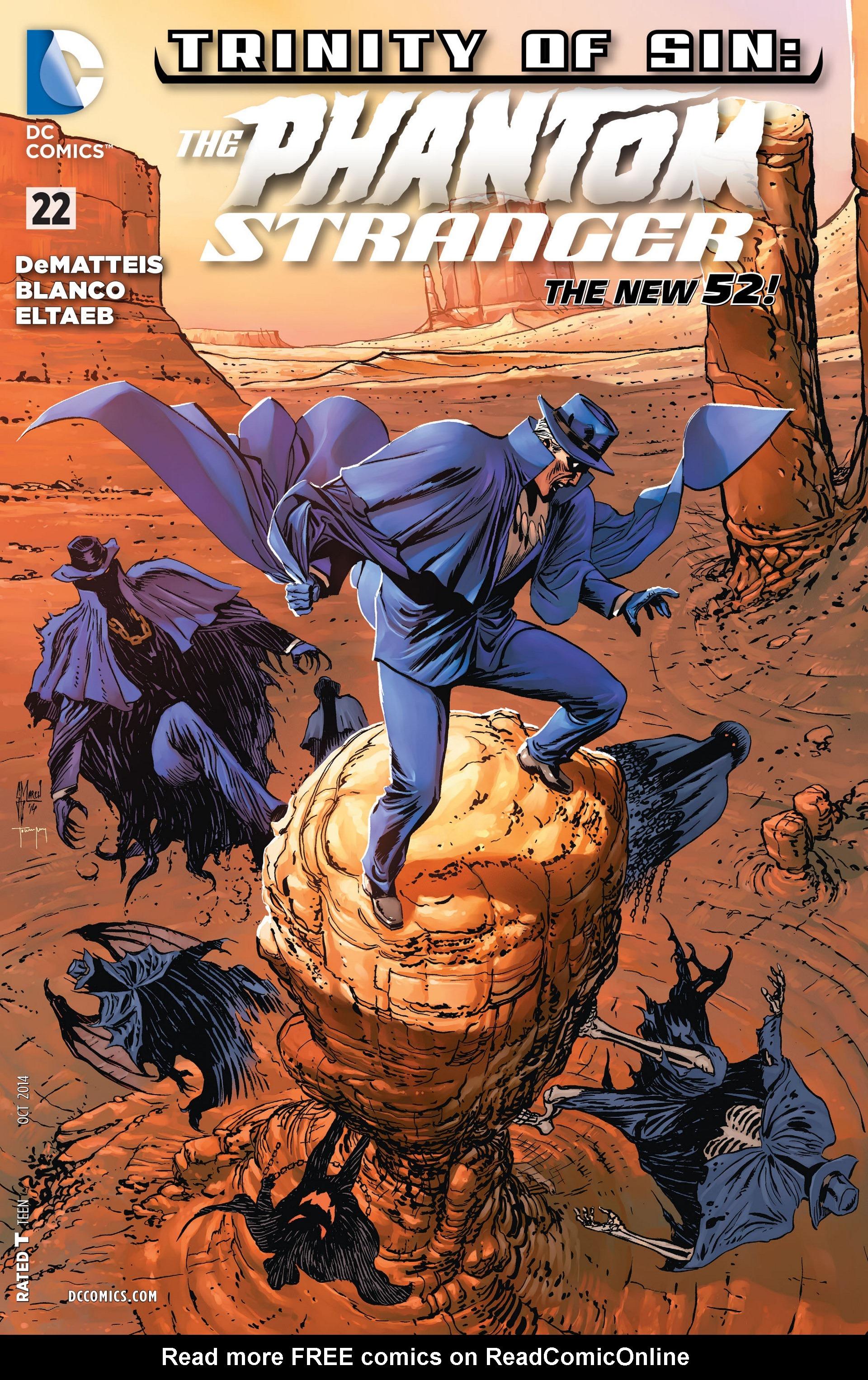 Read online Trinity of Sin: The Phantom Stranger comic -  Issue #22 - 1