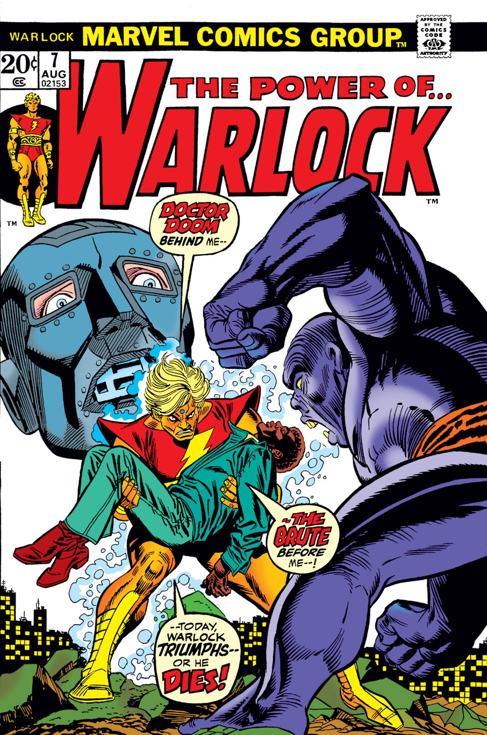 Warlock (1972) issue 7 - Page 1
