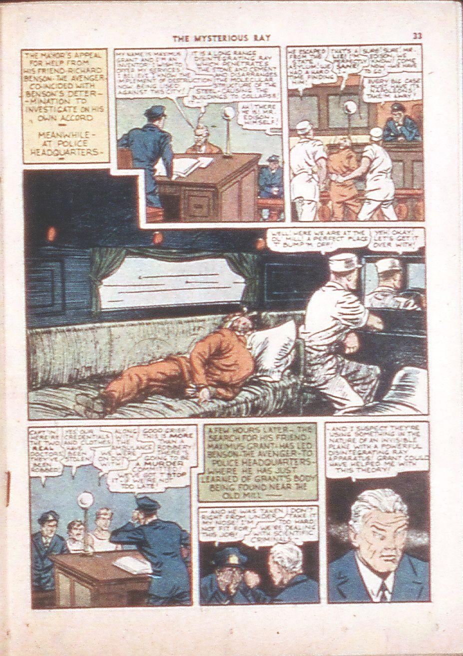 Read online Shadow Comics comic -  Issue #6 - 35