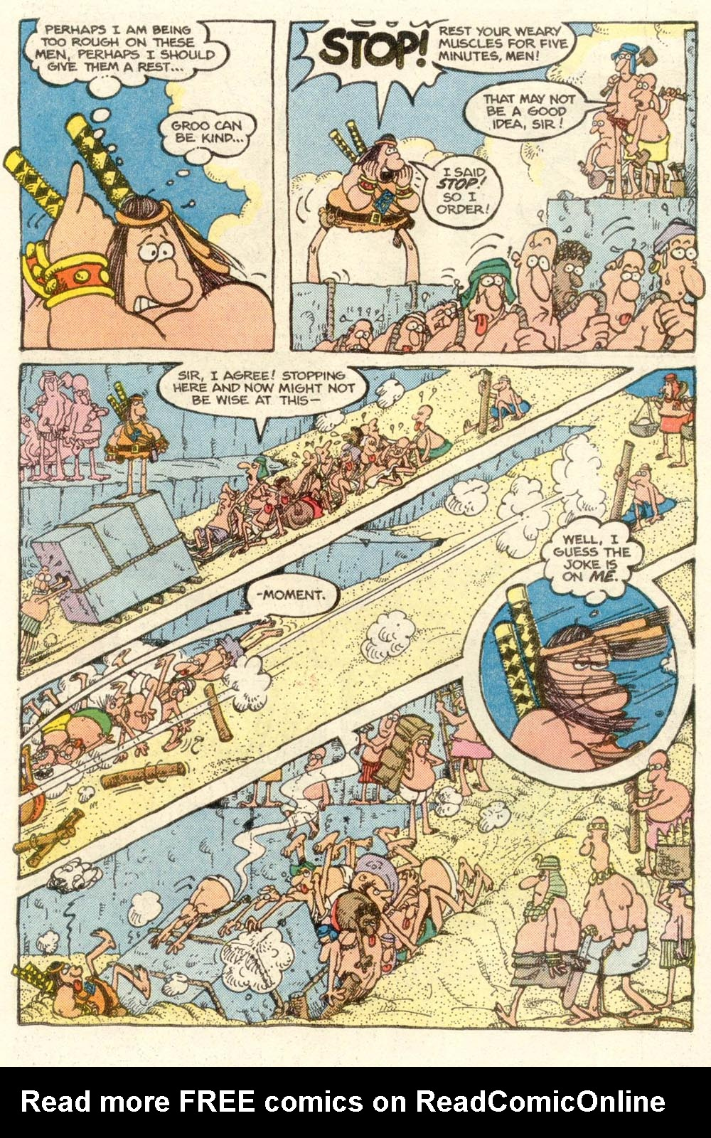 Read online Sergio Aragonés Groo the Wanderer comic -  Issue #14 - 9