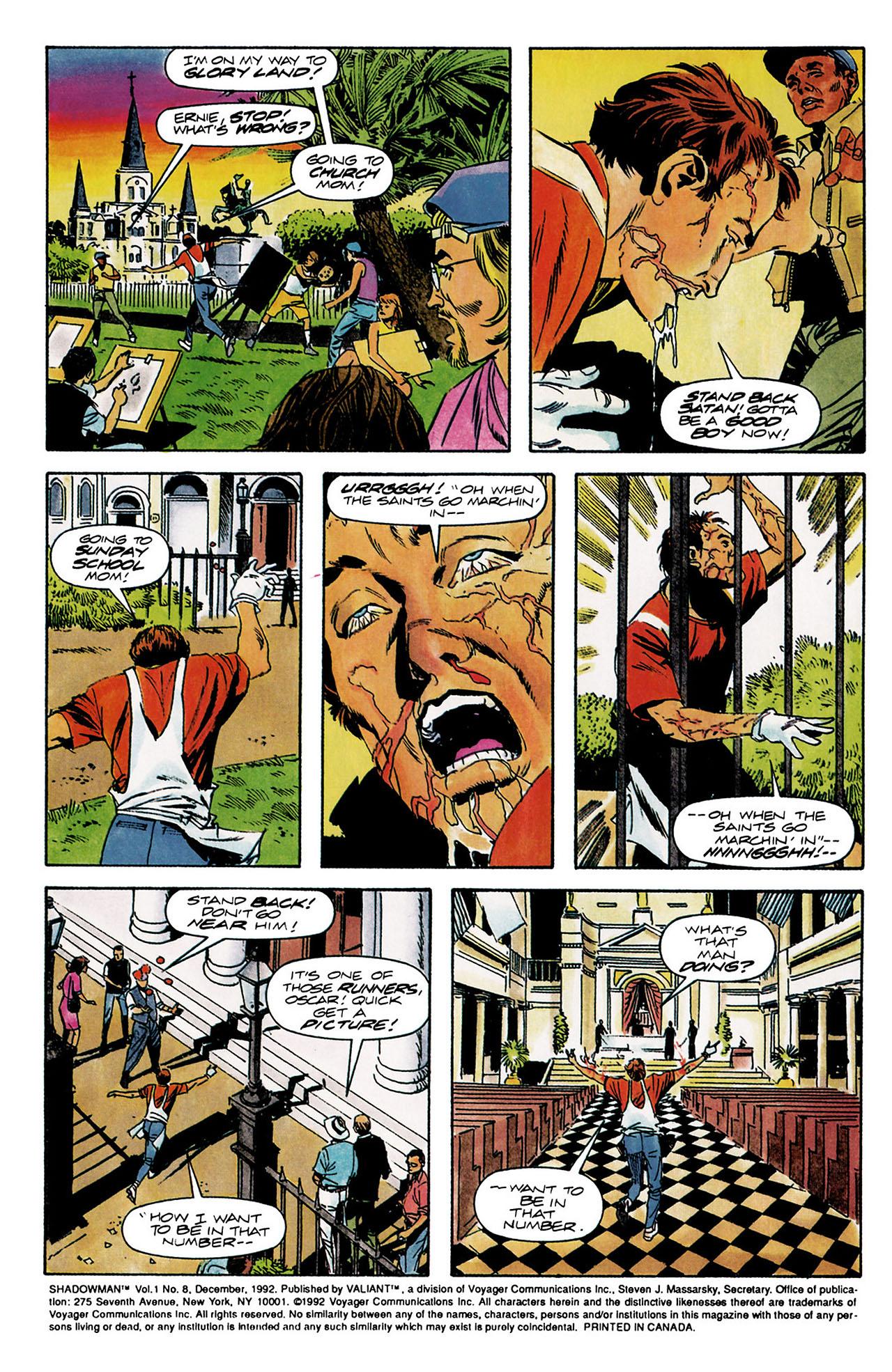 Read online Shadowman (1992) comic -  Issue #8 - 3