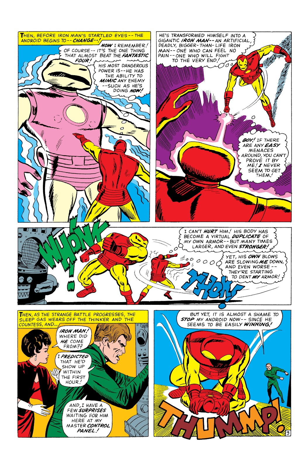 Read online Marvel Masterworks: The Invincible Iron Man comic -  Issue # TPB 3 (Part 2) - 50
