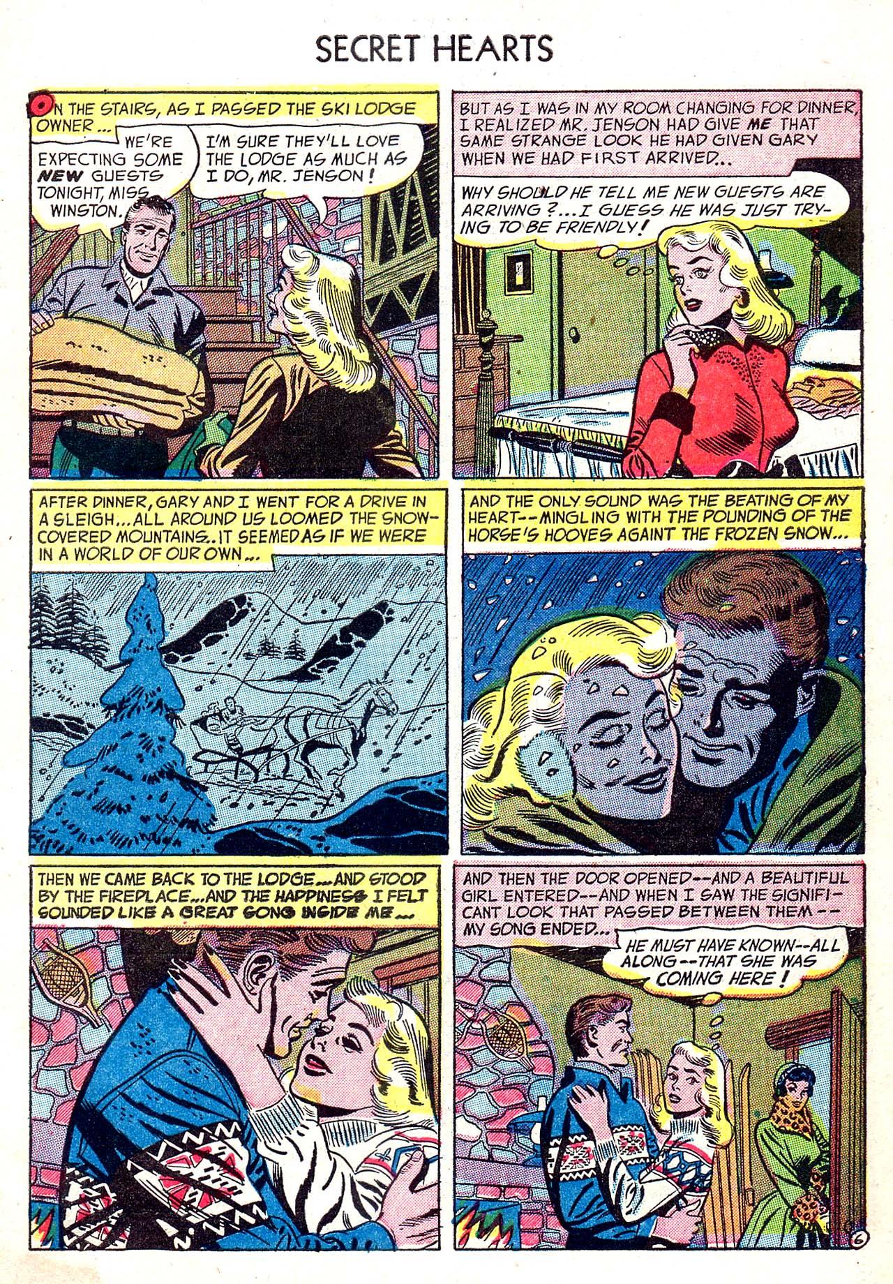 Read online Secret Hearts comic -  Issue #20 - 31