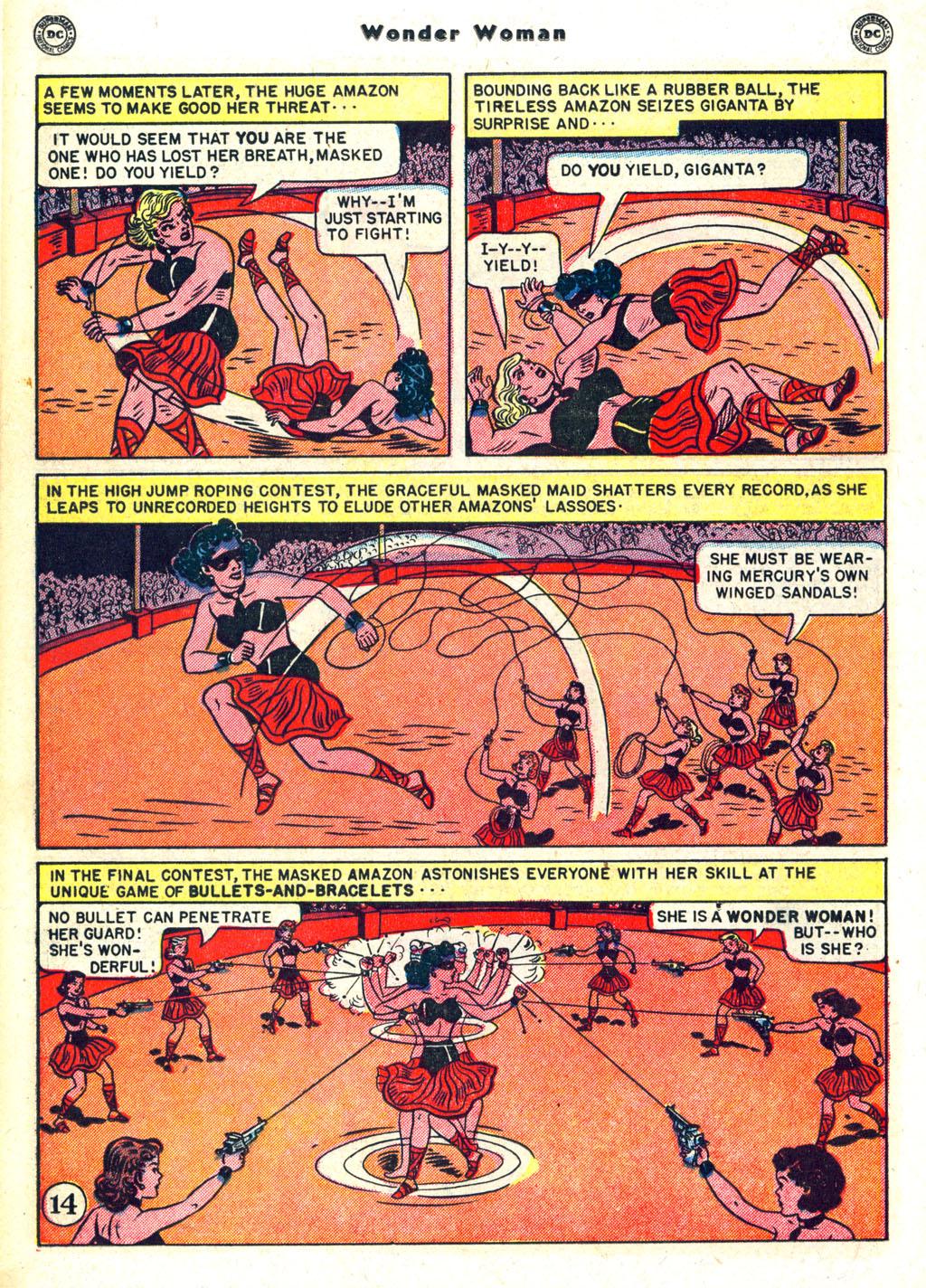 Read online Wonder Woman (1942) comic -  Issue #45 - 18