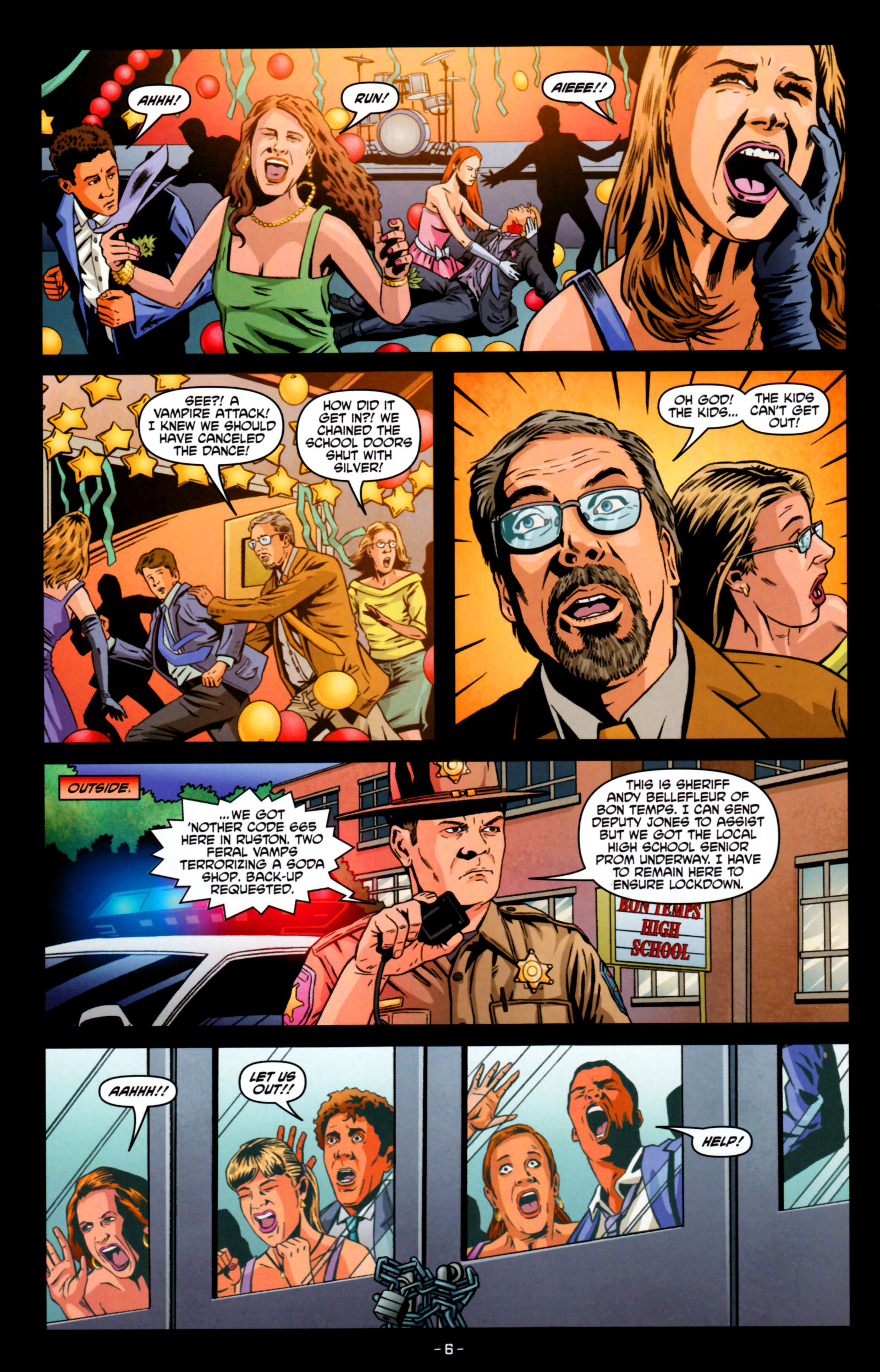 Read online True Blood: Tainted Love comic -  Issue #5 - 9