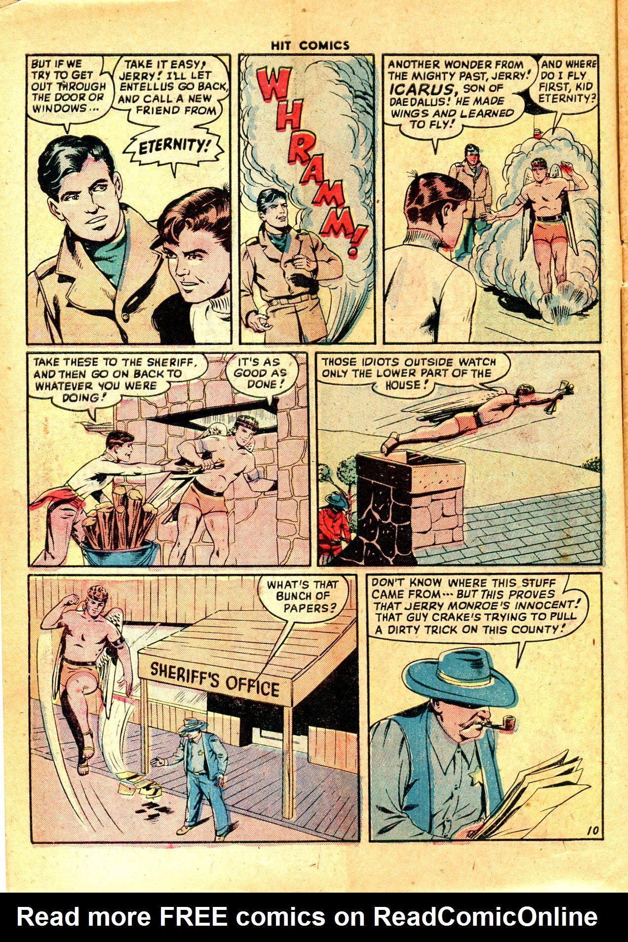 Read online Hit Comics comic -  Issue #57 - 12