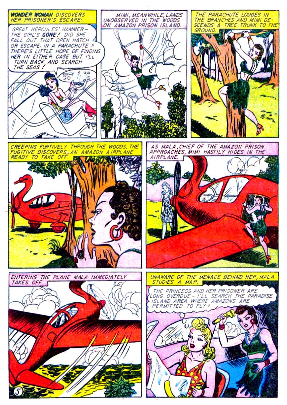Read online Sensation (Mystery) Comics comic -  Issue #29 - 7