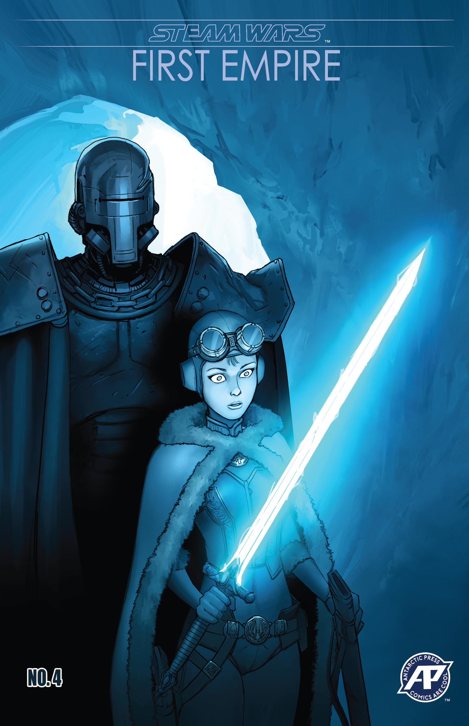Read online Steam Wars: First Empire comic -  Issue #4 - 1