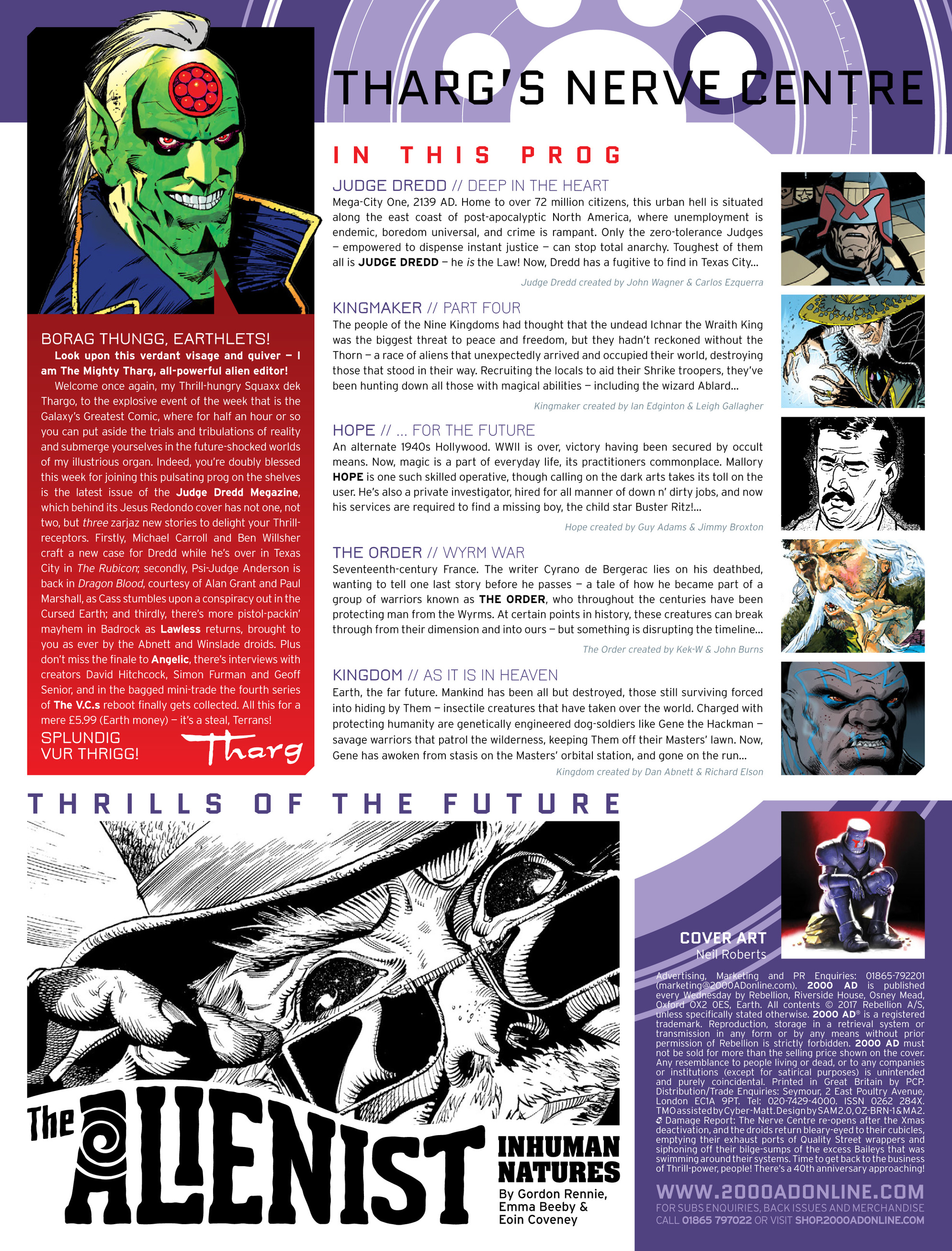 Read online 2000 AD comic -  Issue #2014 - 2