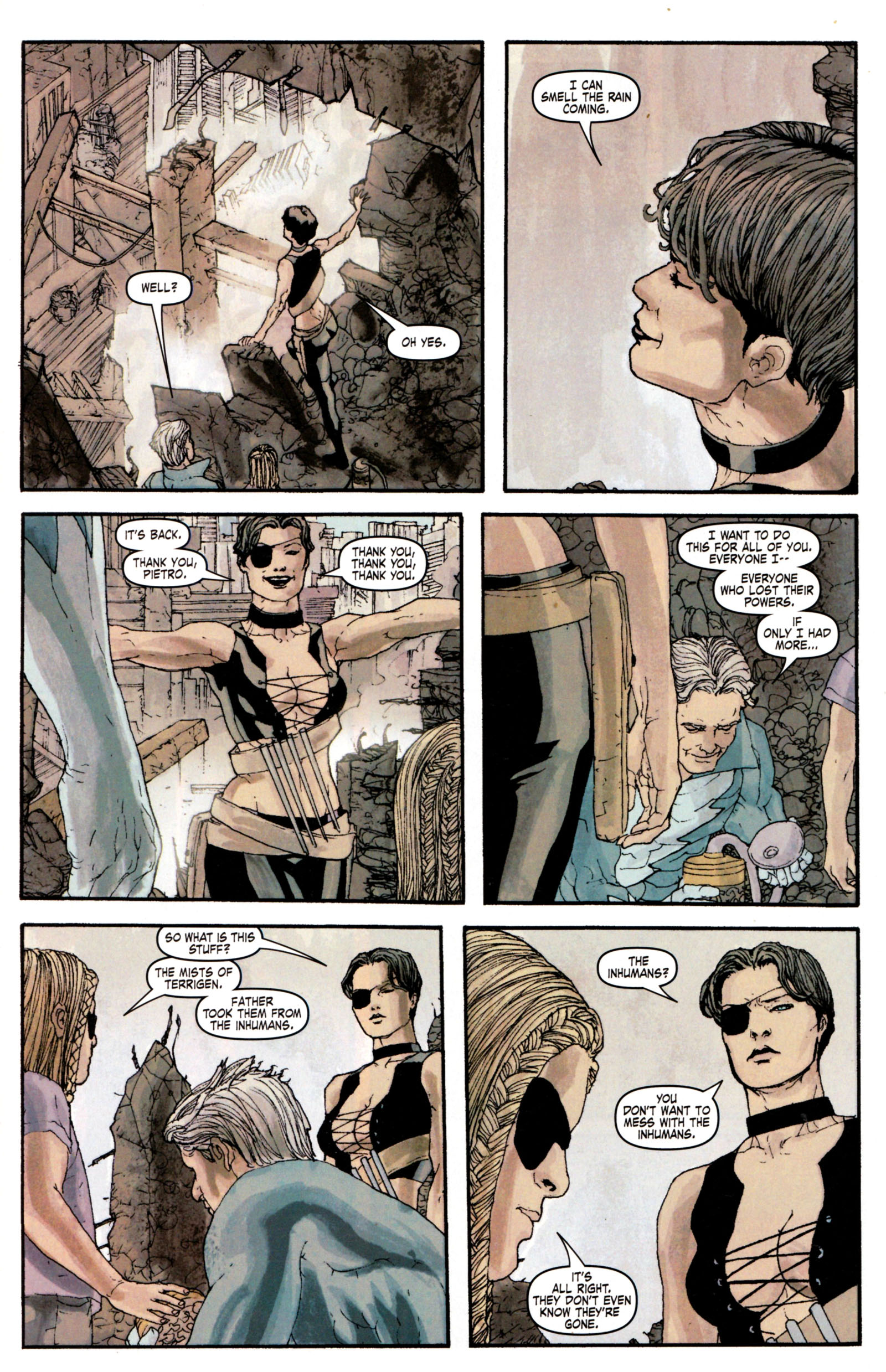 Read online Son of M comic -  Issue #4 - 24