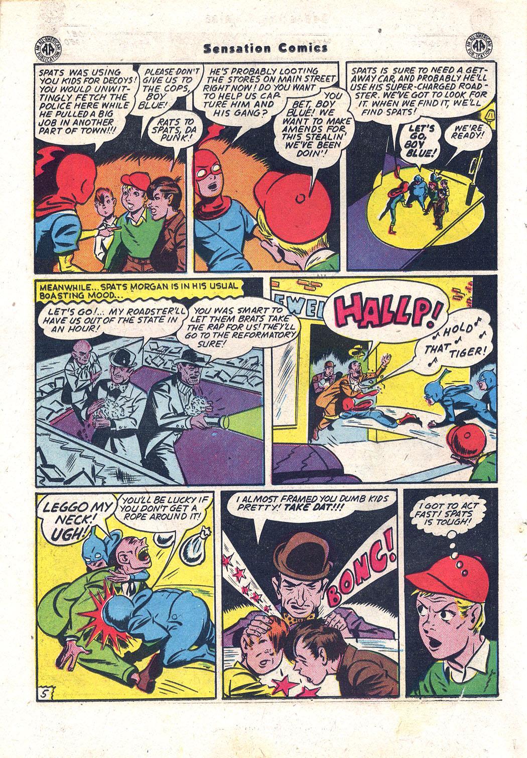Read online Sensation (Mystery) Comics comic -  Issue #43 - 19