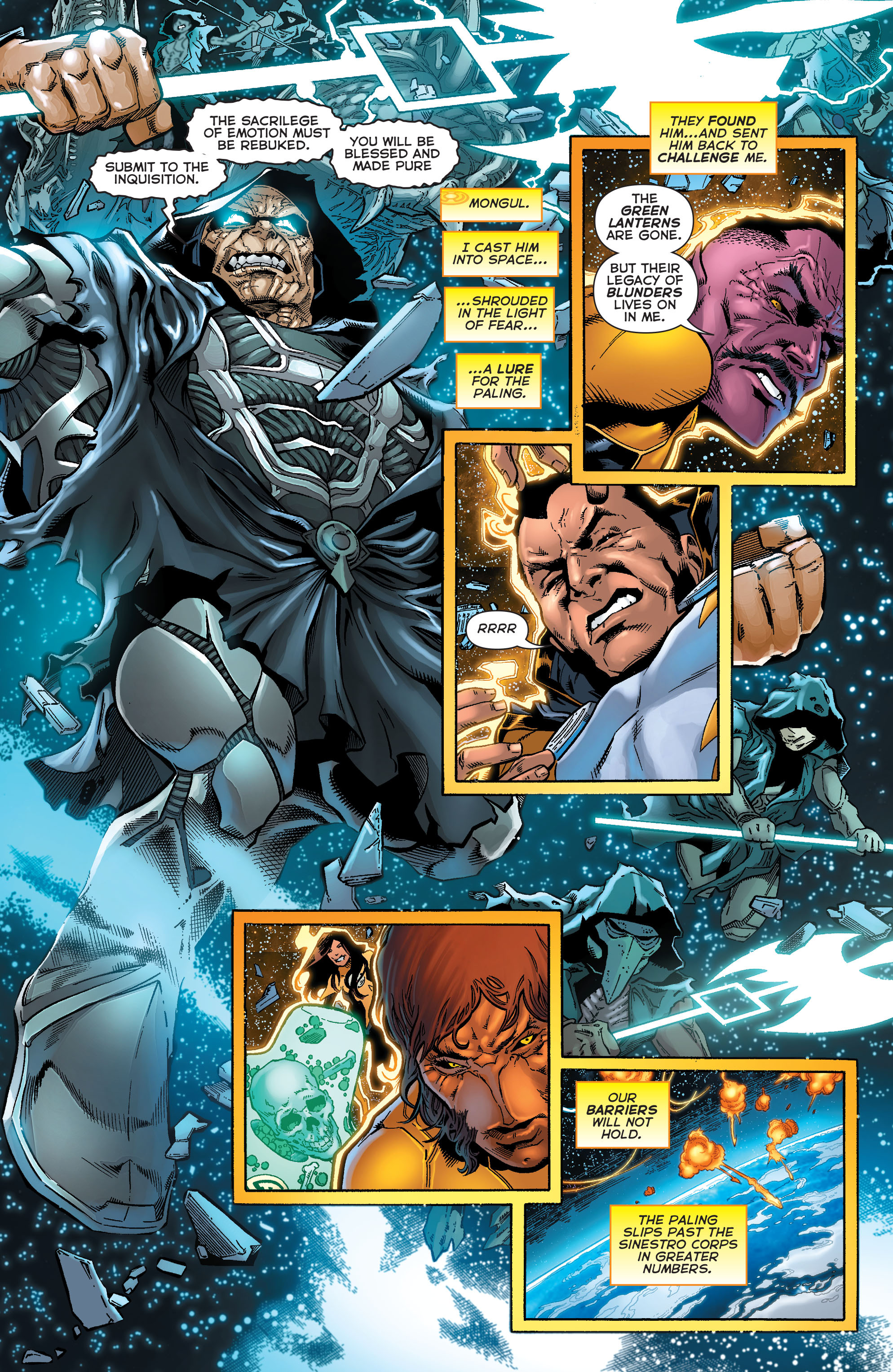 Read online Sinestro comic -  Issue #18 - 13