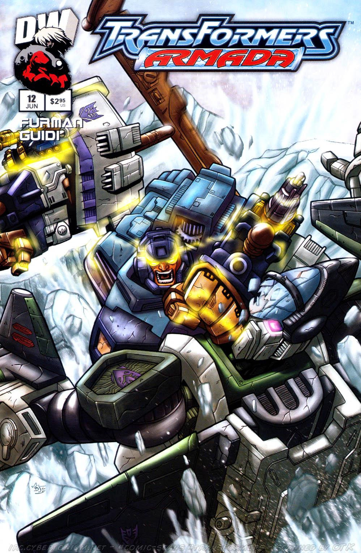 Read online Transformers Armada comic -  Issue #12 - 1