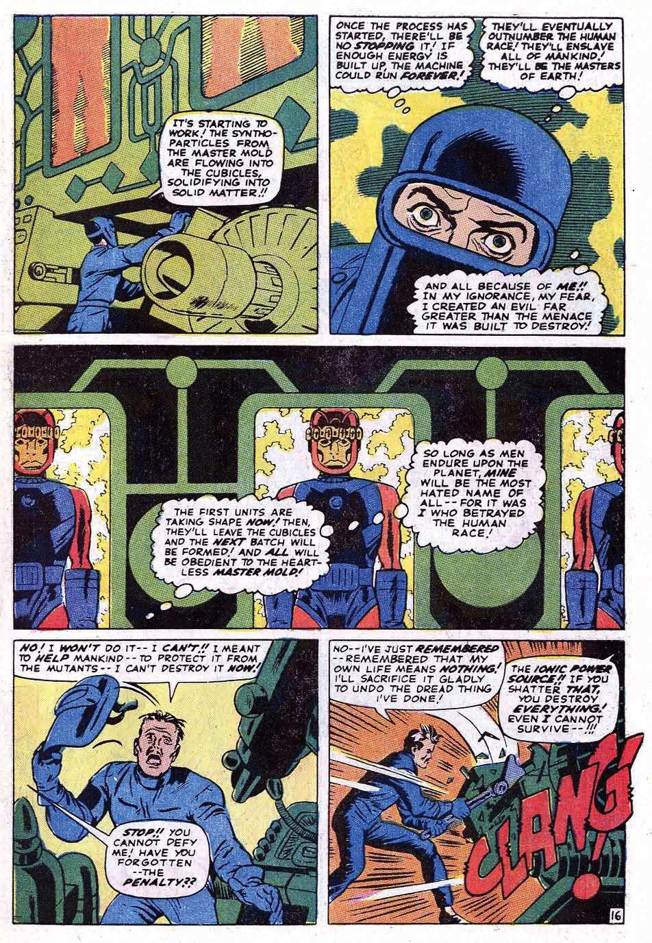 Read online Uncanny X-Men (1963) comic -  Issue #69 - 21